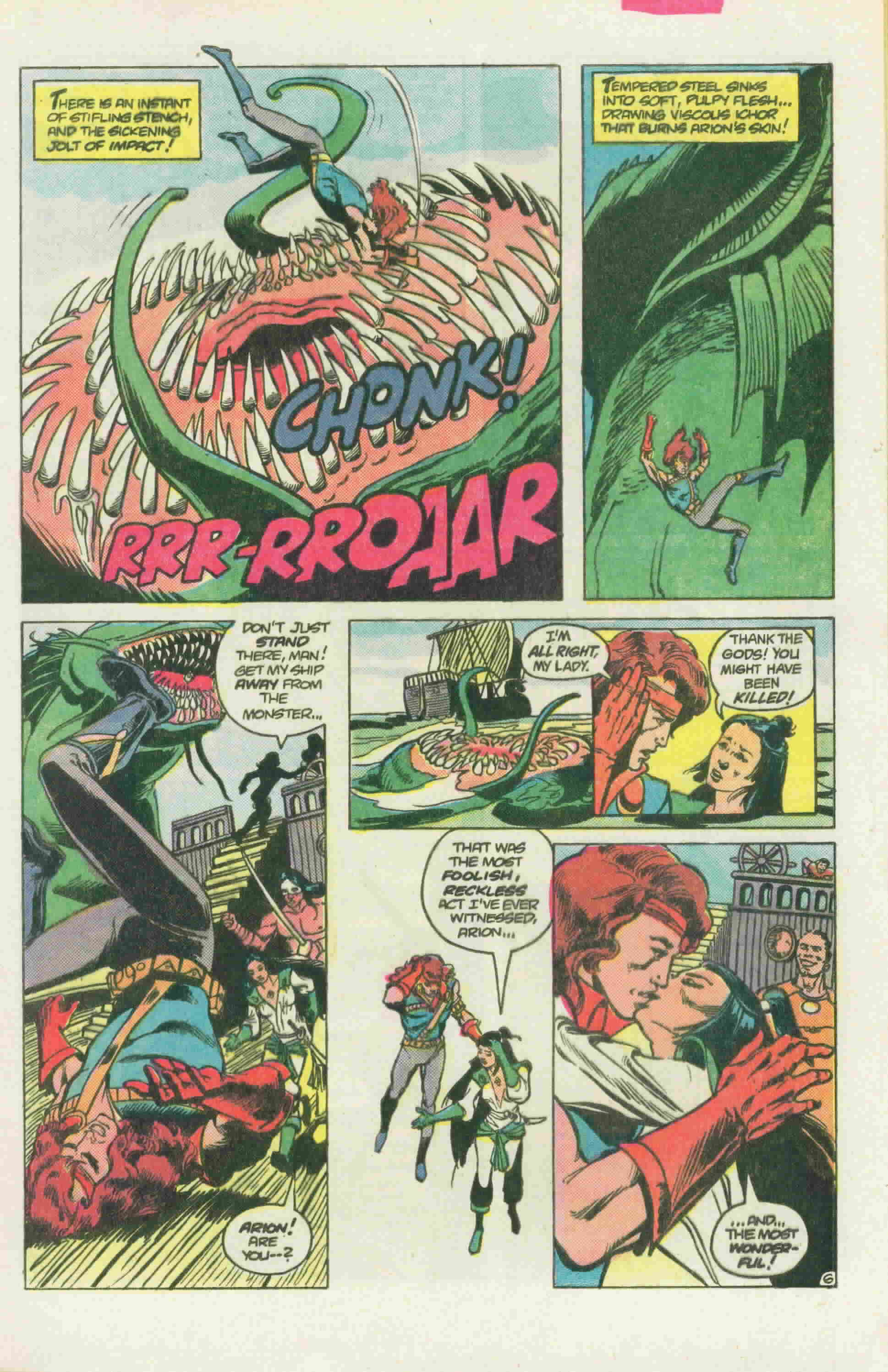 Read online Arion, Lord of Atlantis comic -  Issue #22 - 10