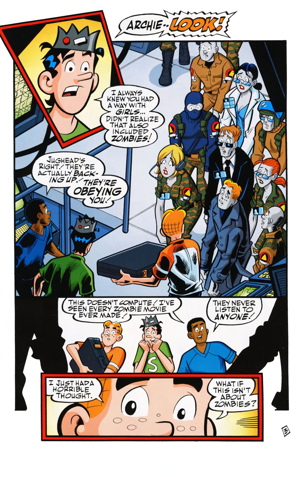 Read online Archie (1960) comic -  Issue #612 - 5