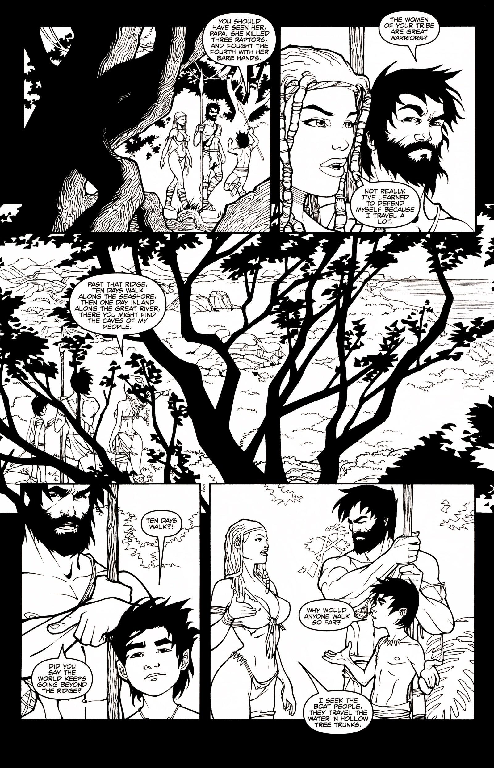 Read online Jungle Fantasy (2002) comic -  Issue # _Annual 1 - 11