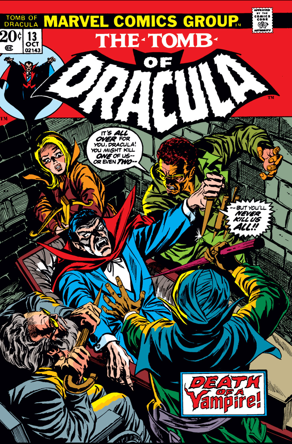 Tomb of Dracula (1972) issue 13 - Page 1