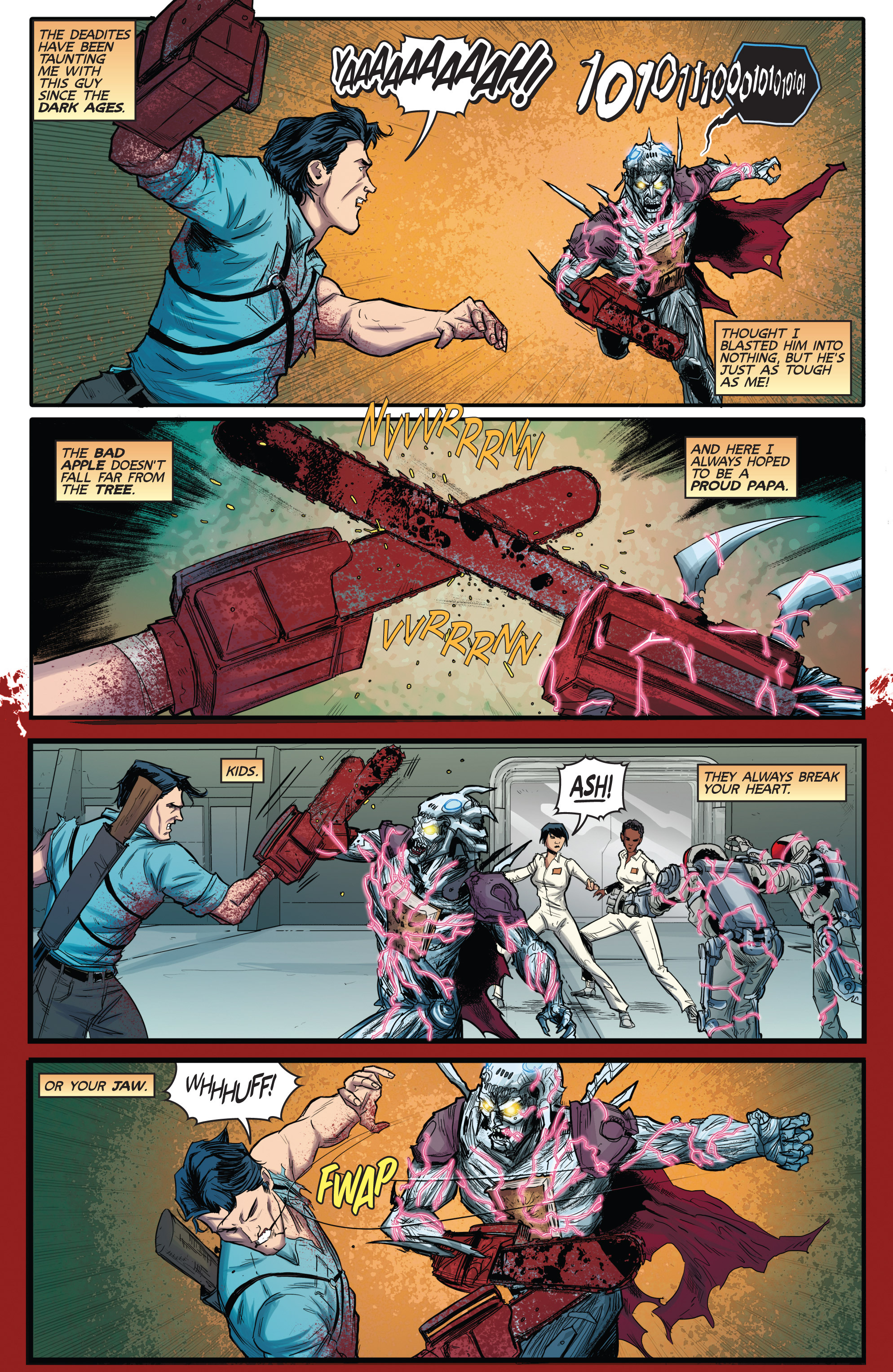 Read online Army of Darkness (2014) comic -  Issue #3 - 19