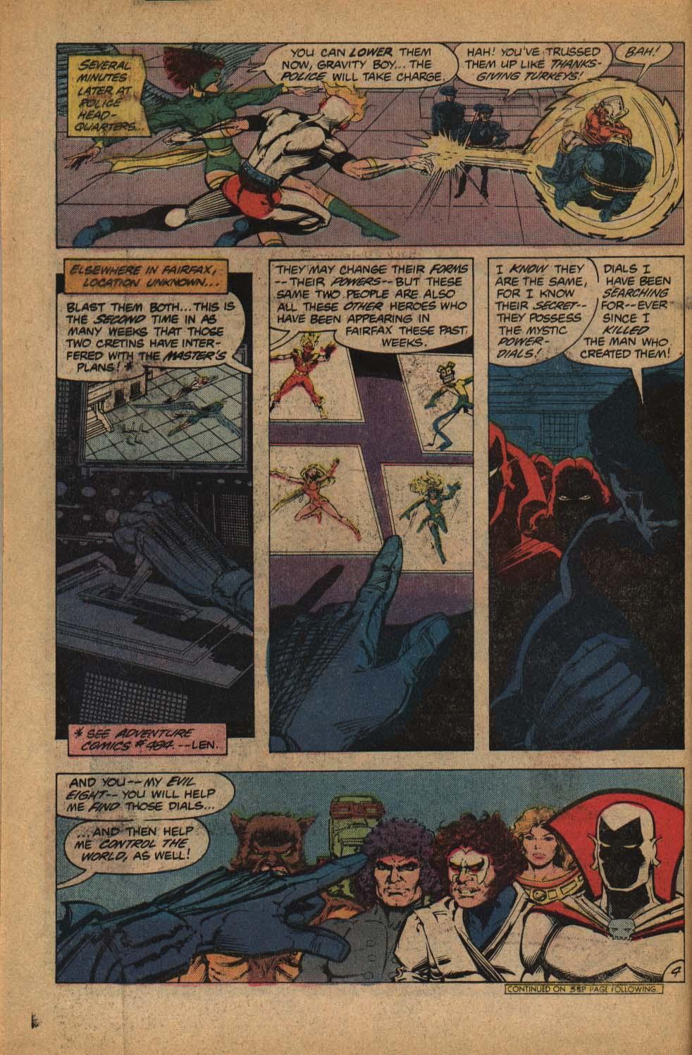 Read online Adventure Comics (1938) comic -  Issue #485 - 6
