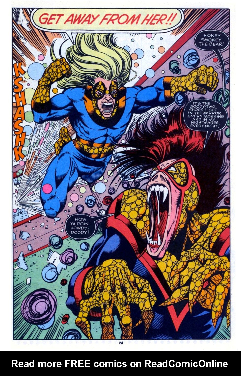 The New Warriors Issue #27 #31 - English 18