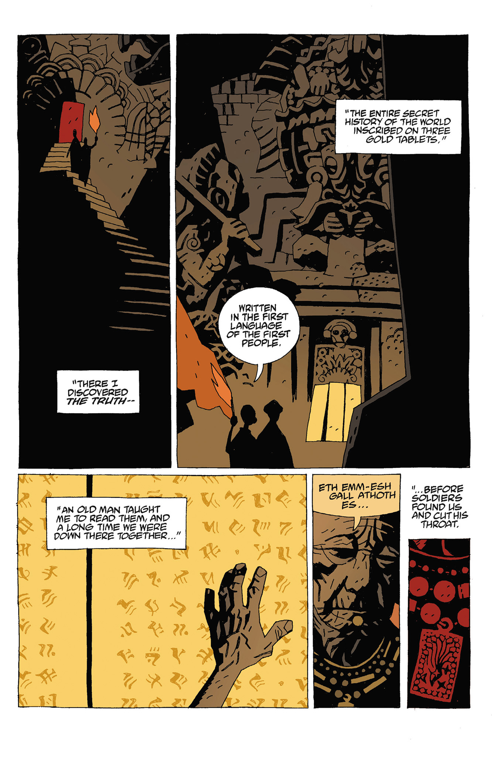 Read online Hellboy: Strange Places comic -  Issue # TPB - 101