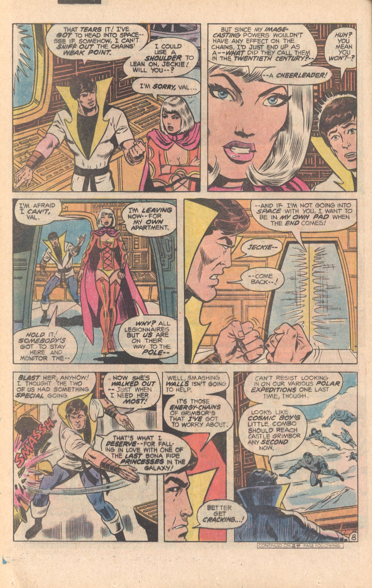 Legion of Super-Heroes (1980) 279 Page 8