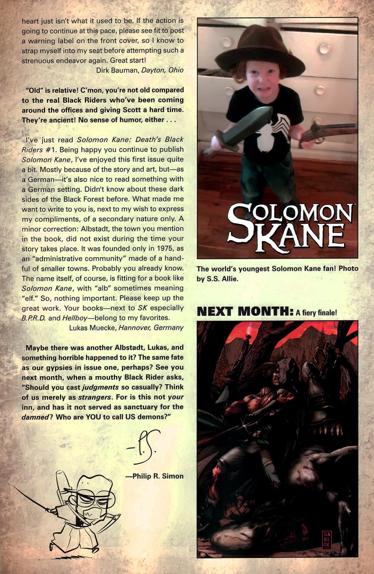 Read online Solomon Kane: Death's Black Riders comic -  Issue #3 - 26