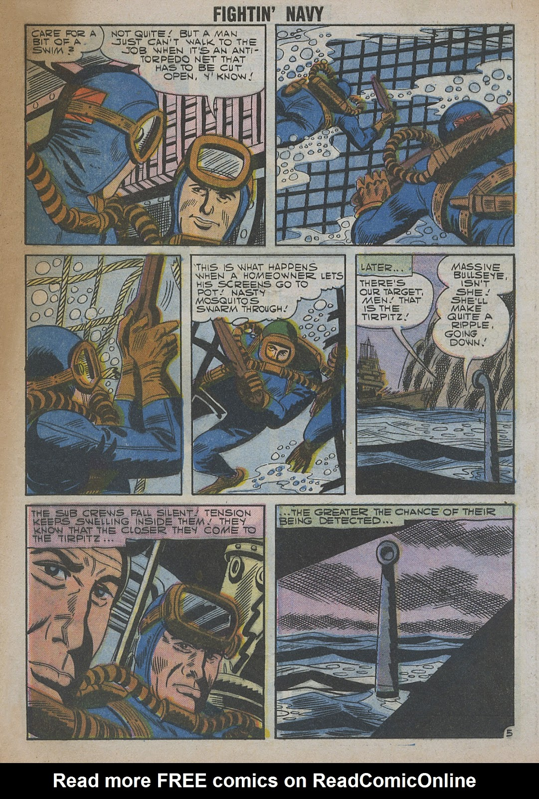 Read online Fightin' Navy comic -  Issue #82 - 63