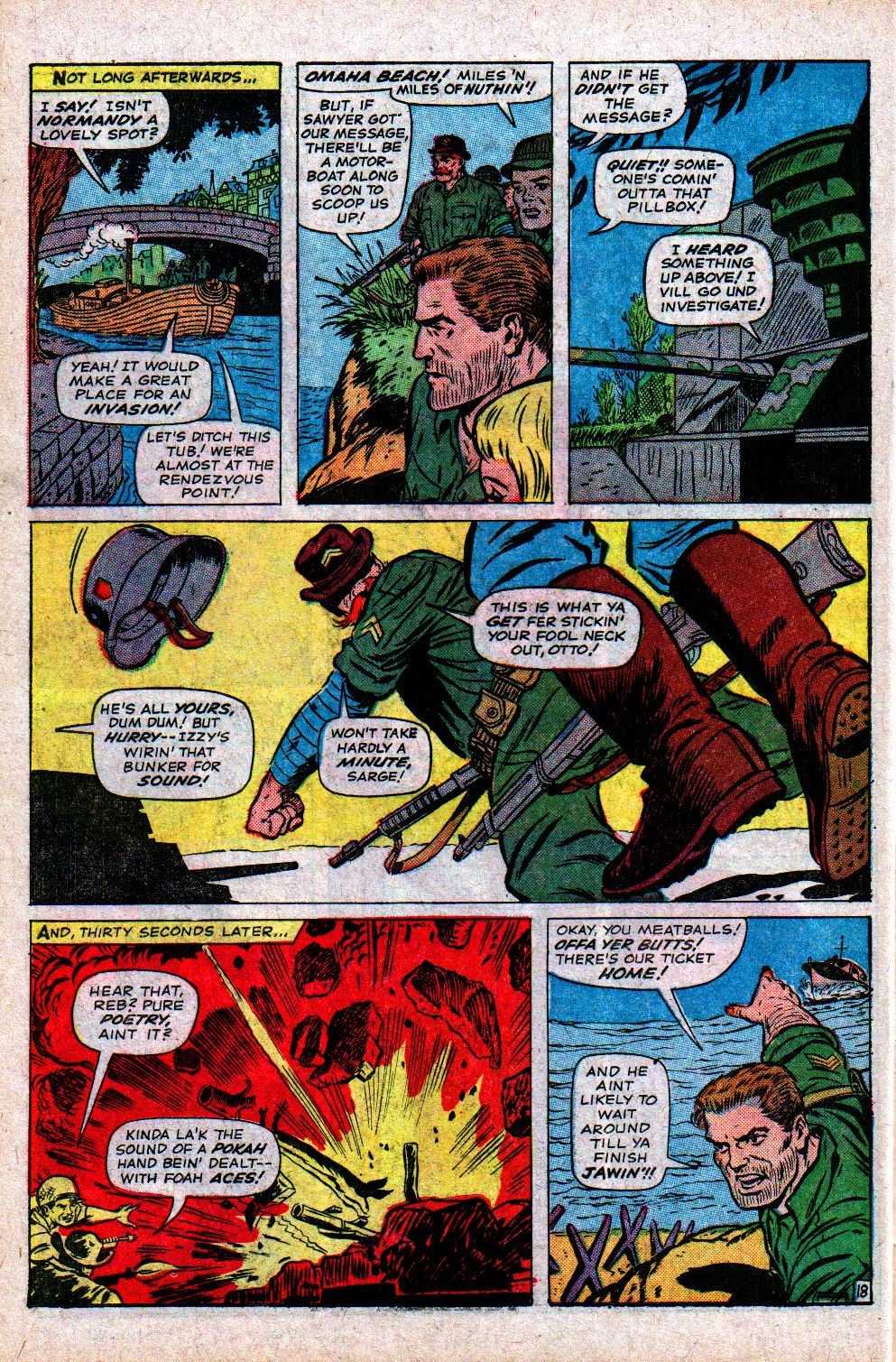Read online Sgt. Fury comic -  Issue #21 - 26