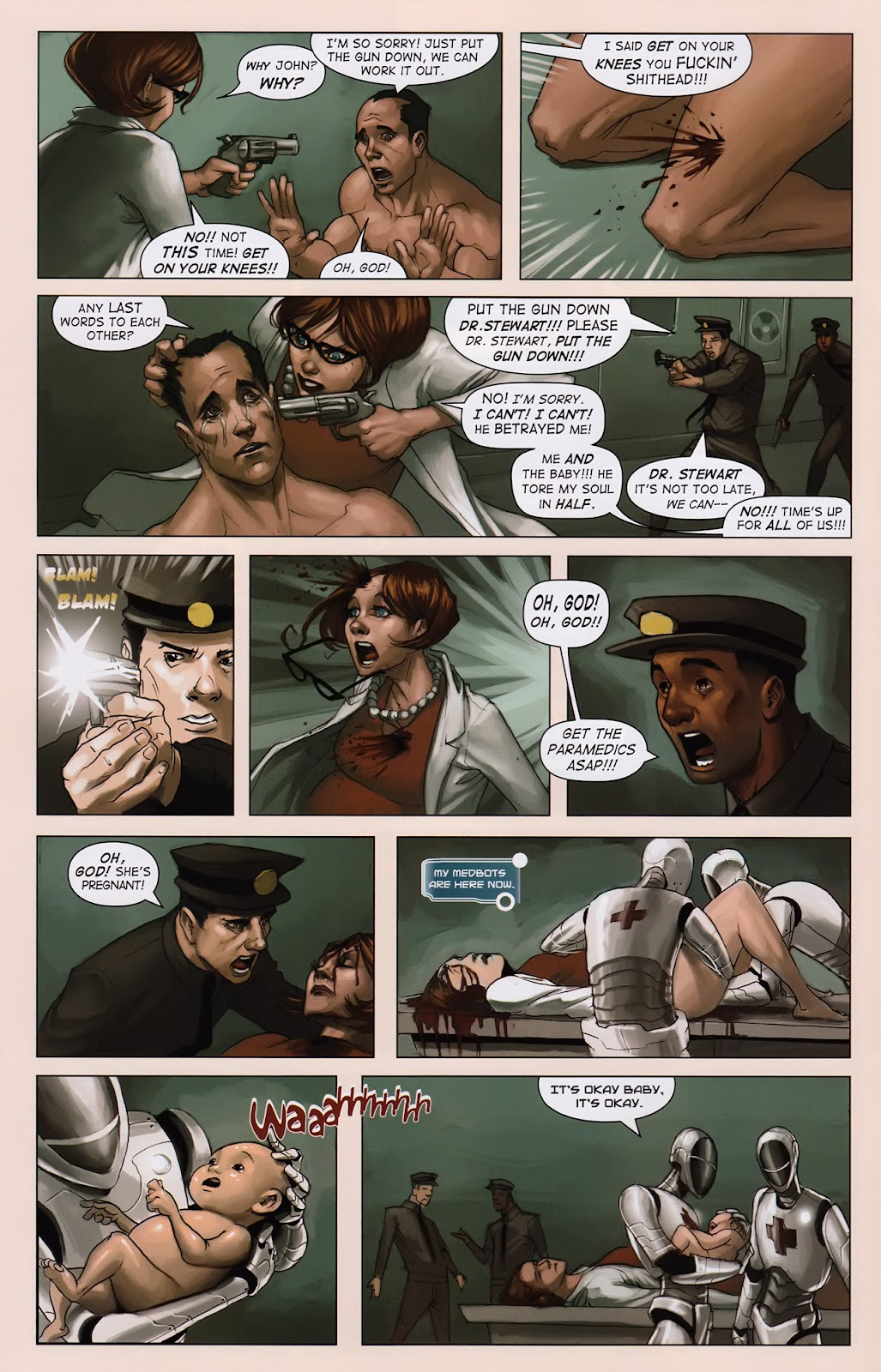 Read online Vescell comic -  Issue #2 - 16