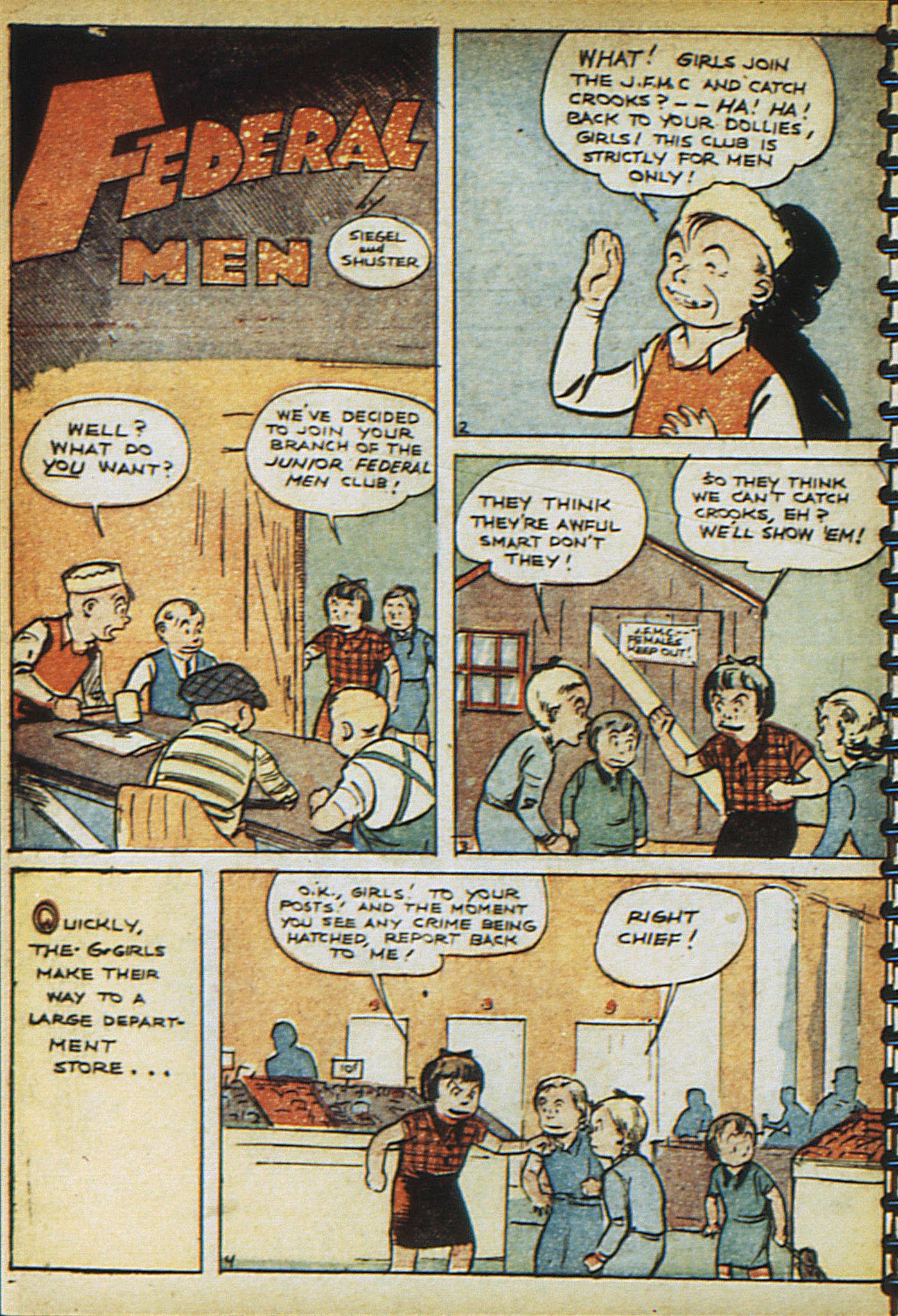 Read online Adventure Comics (1938) comic -  Issue #23 - 28