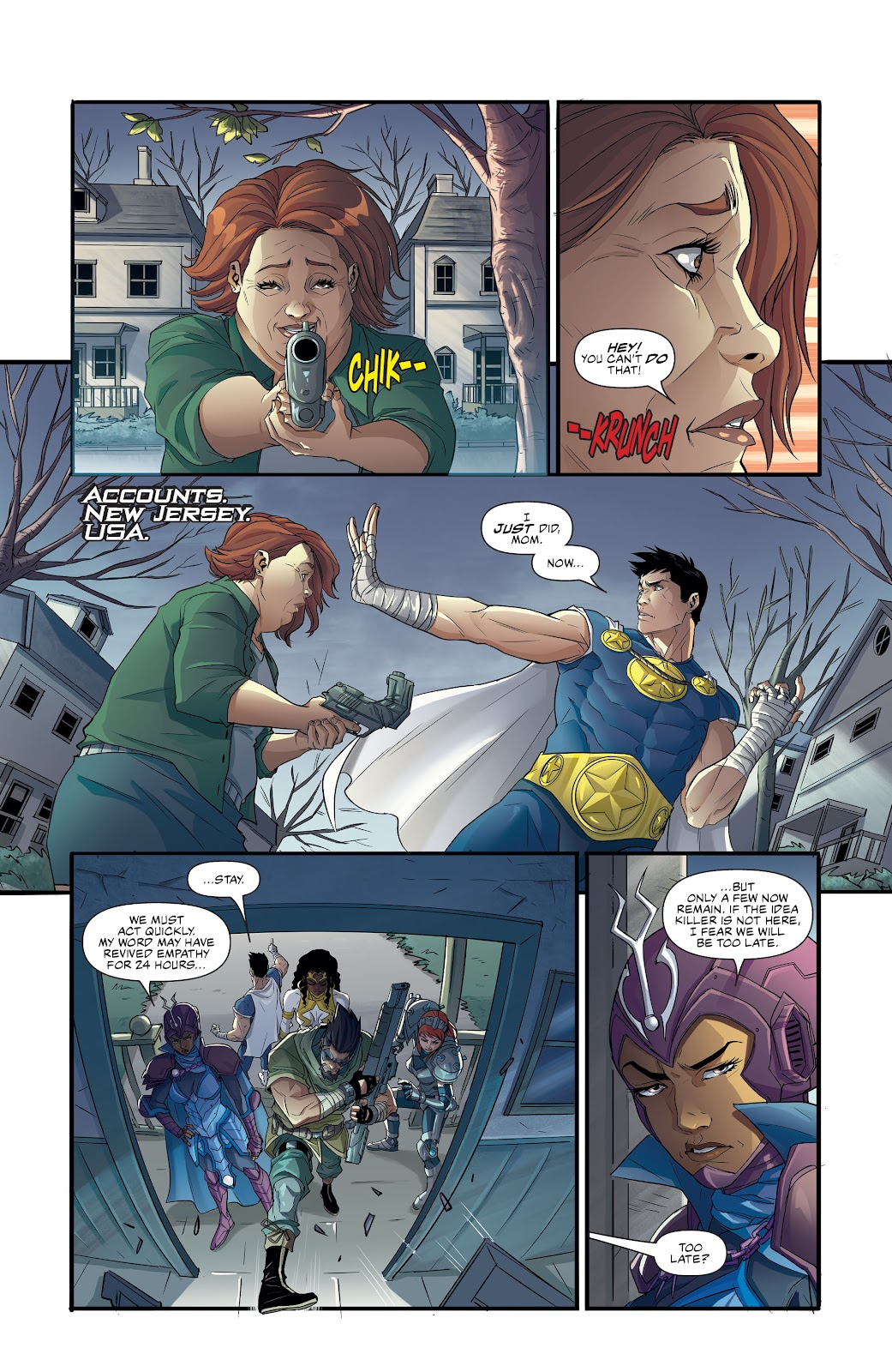 Commanders In Crisis issue 4 - Page 3