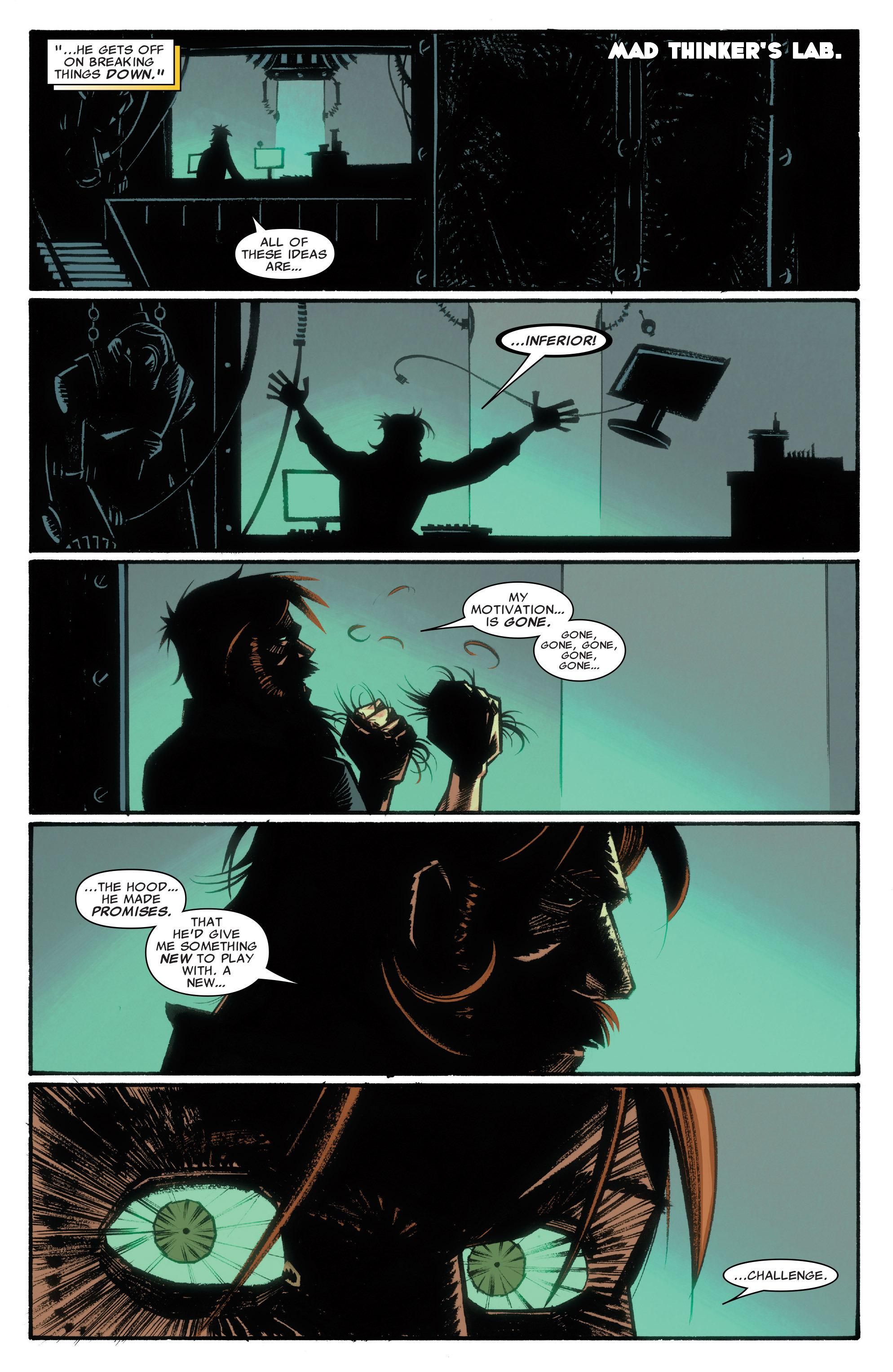 Read online Illuminati comic -  Issue #3 - 13