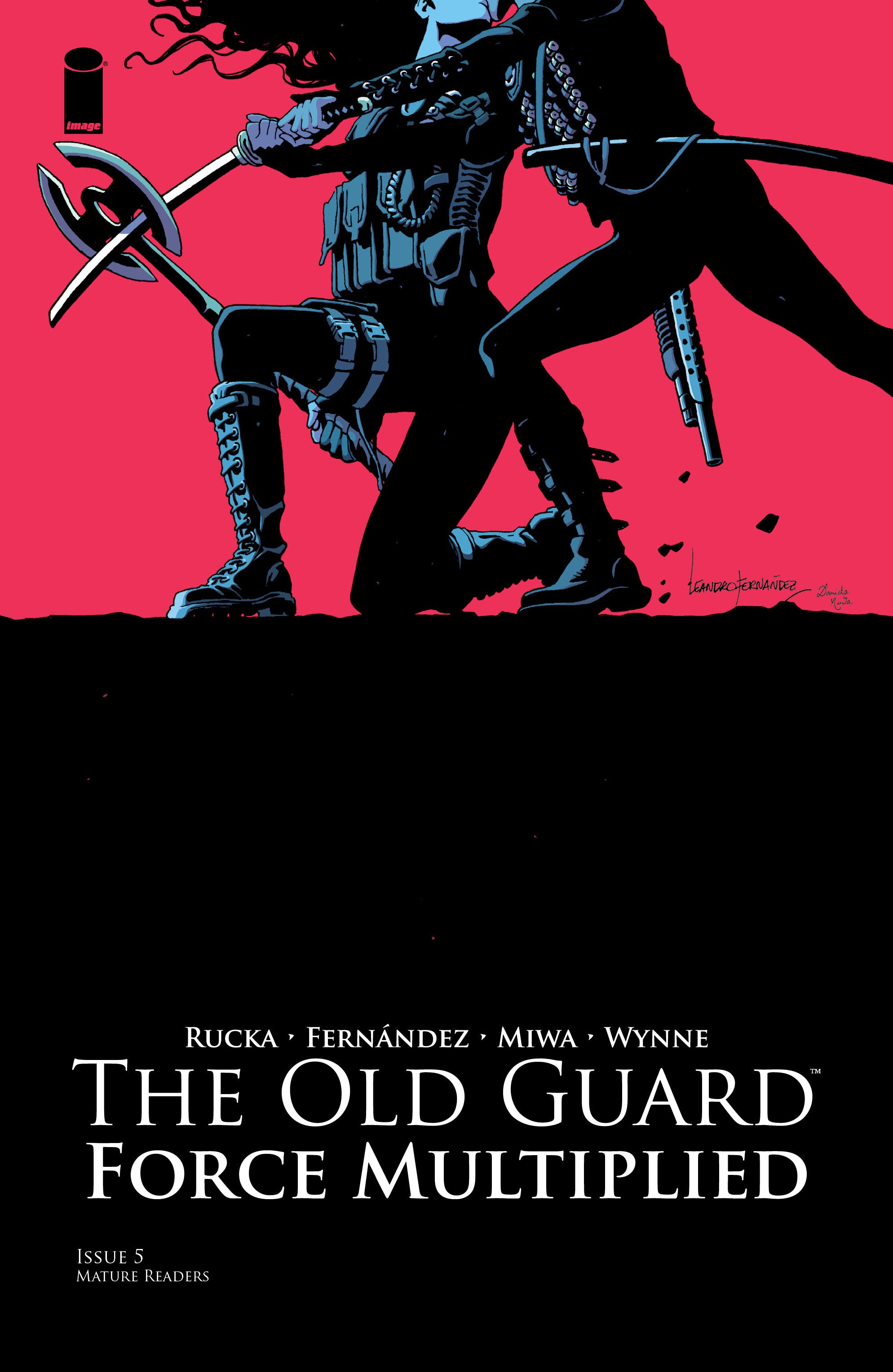 The Old Guard: Force Multiplied 5 Page 1