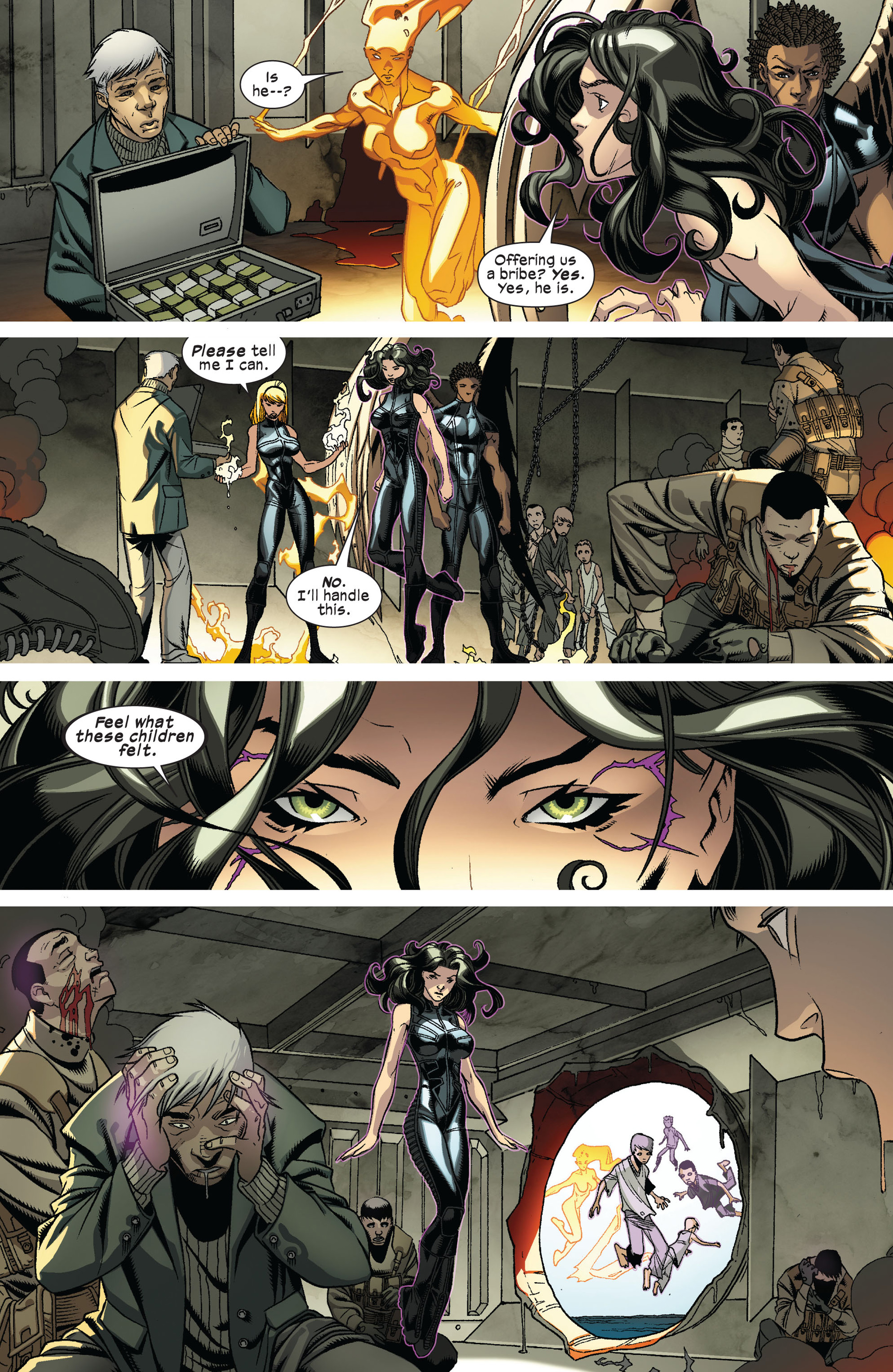 Read online Ultimate Comics X-Men comic -  Issue #8 - 12