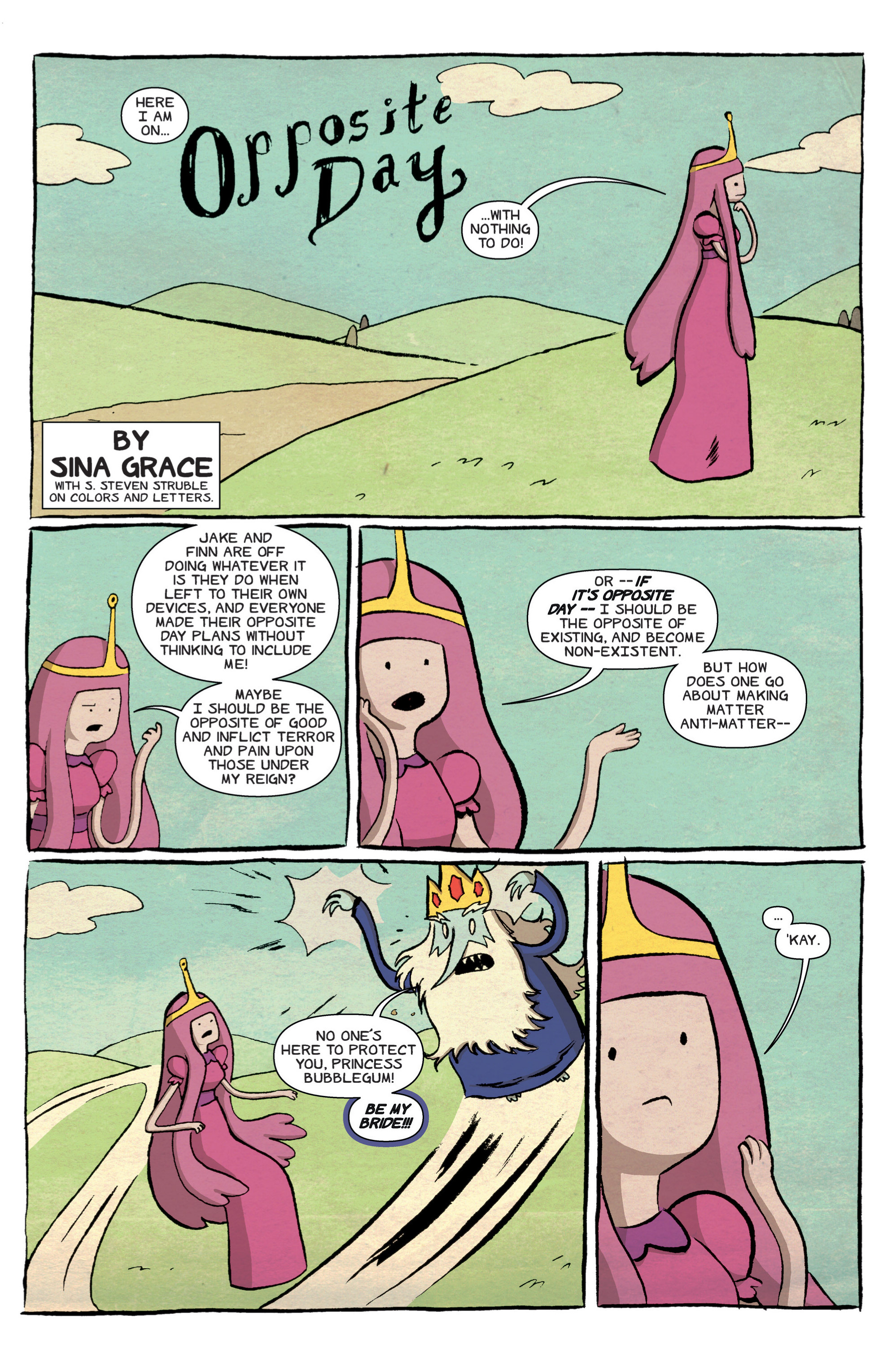 Read online Adventure Time comic -  Issue #16 - 23