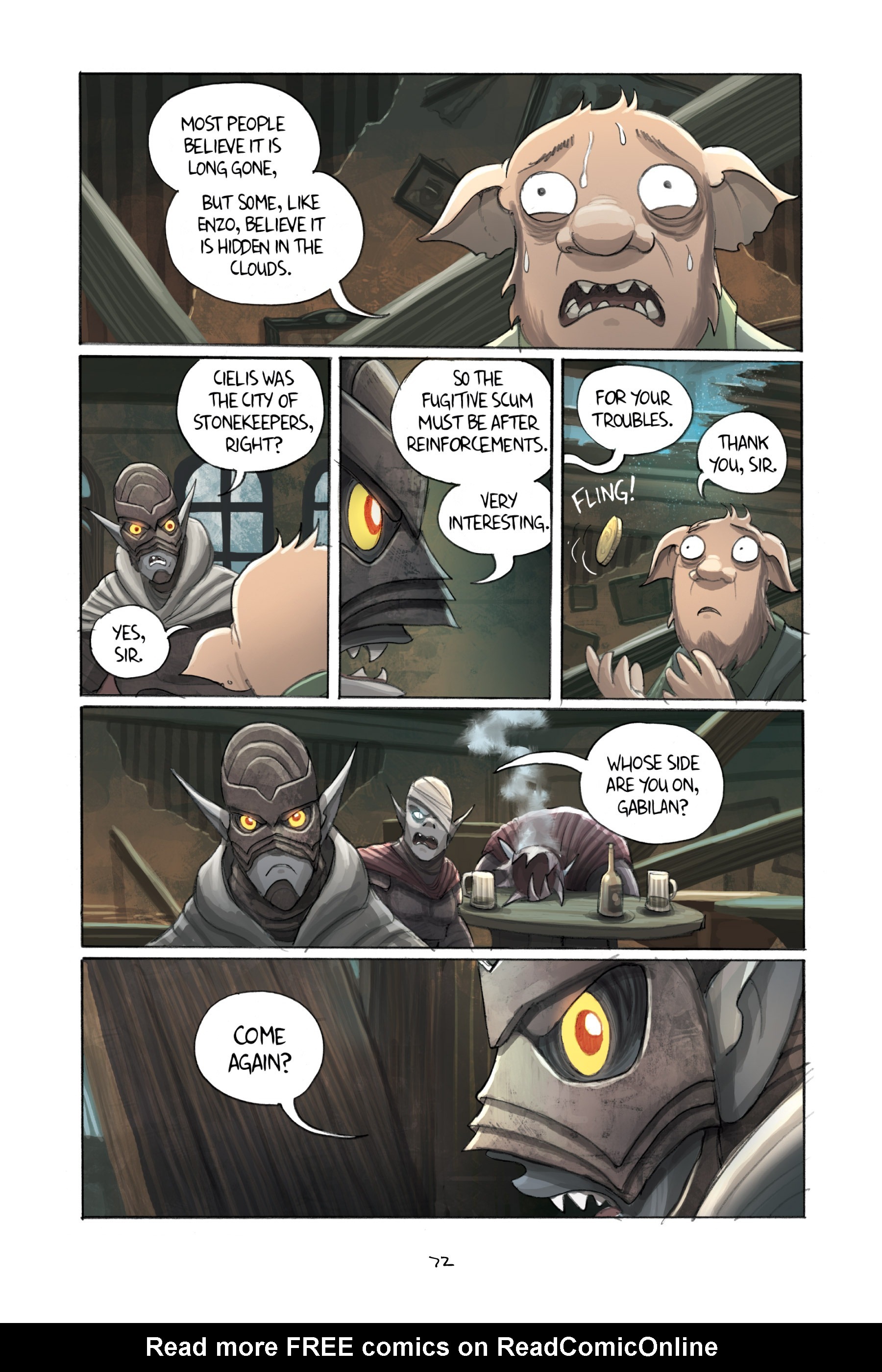Read online Amulet comic -  Issue #3 - 70