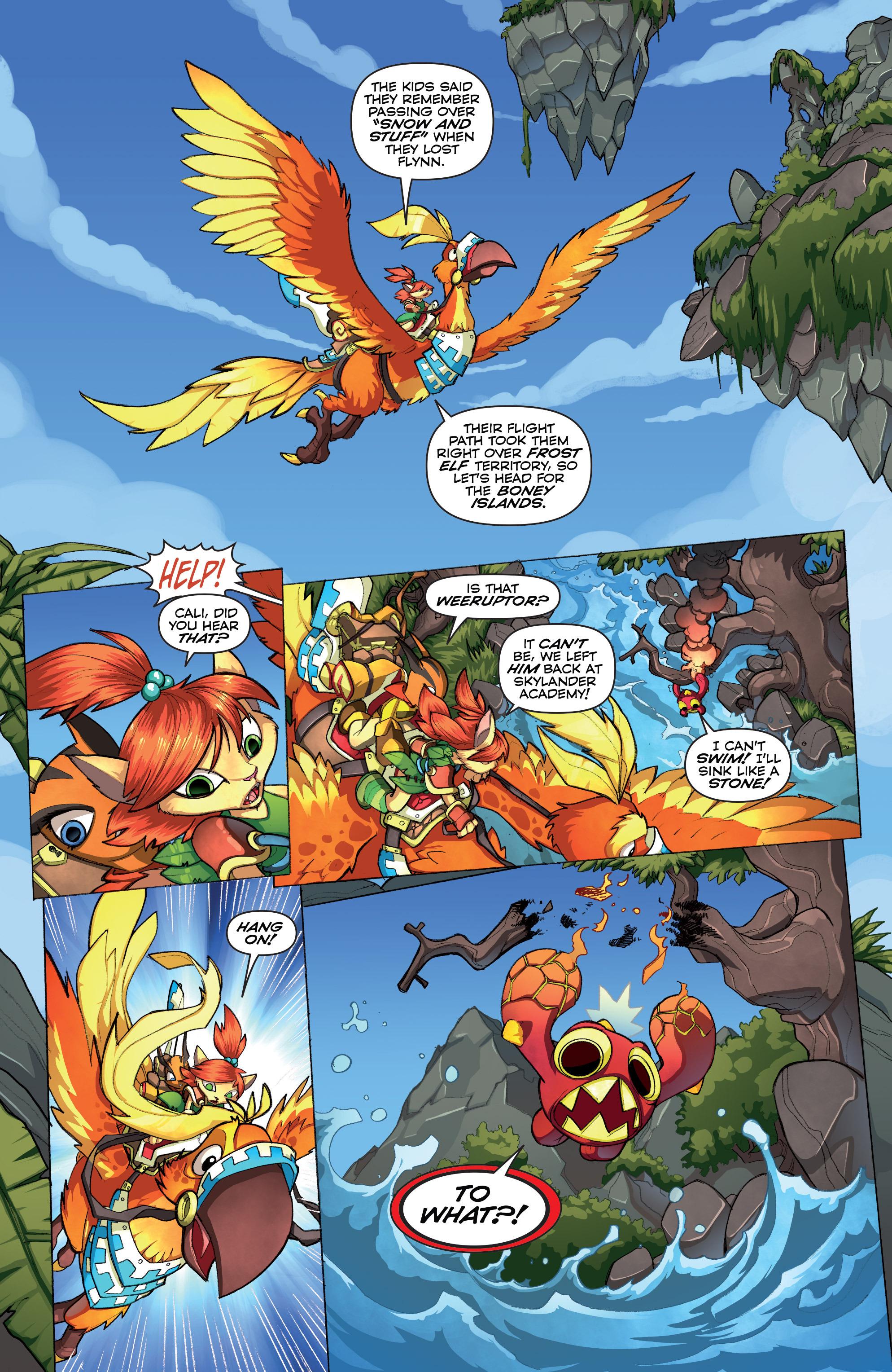Read online Skylanders comic -  Issue #2 - 8