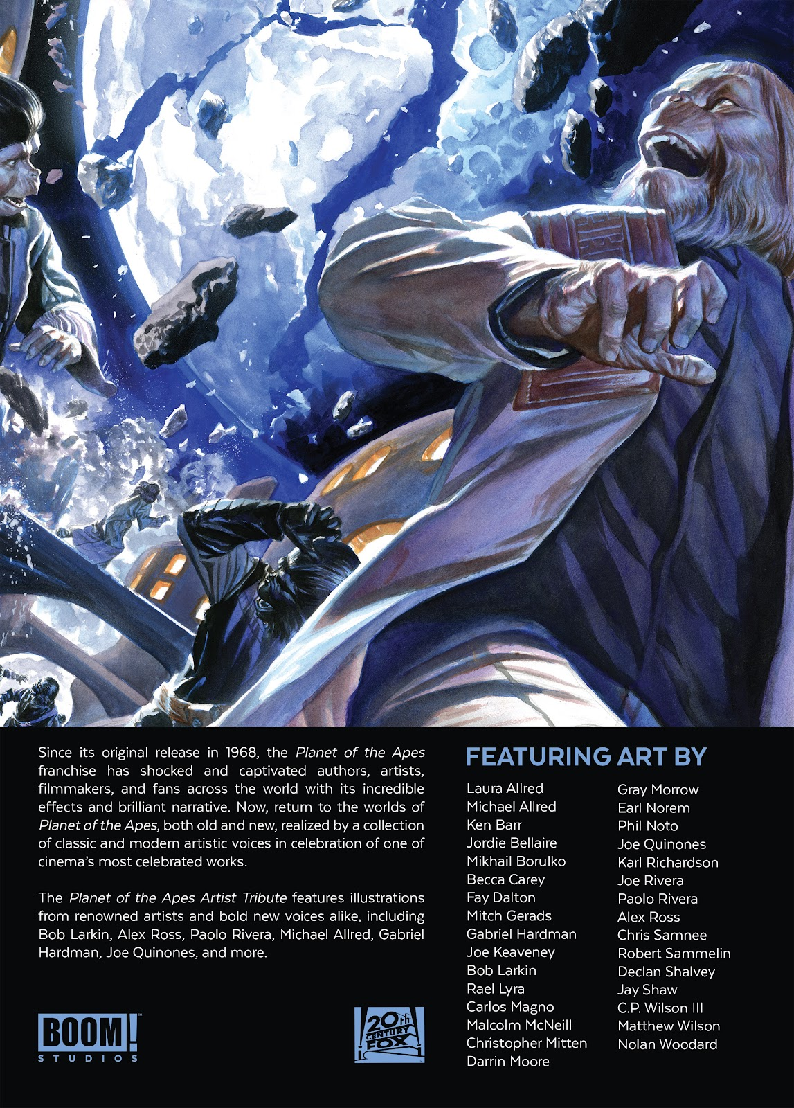 Read online Planet of the Apes Artist Tribute comic -  Issue # TPB - 112