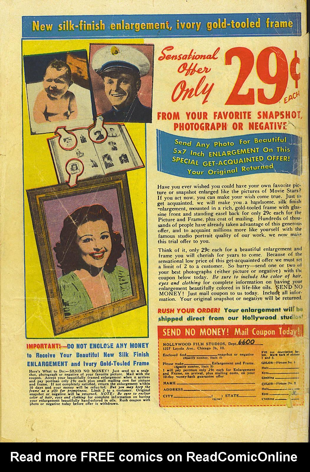 Read online Adventure Comics (1938) comic -  Issue #155 - 52