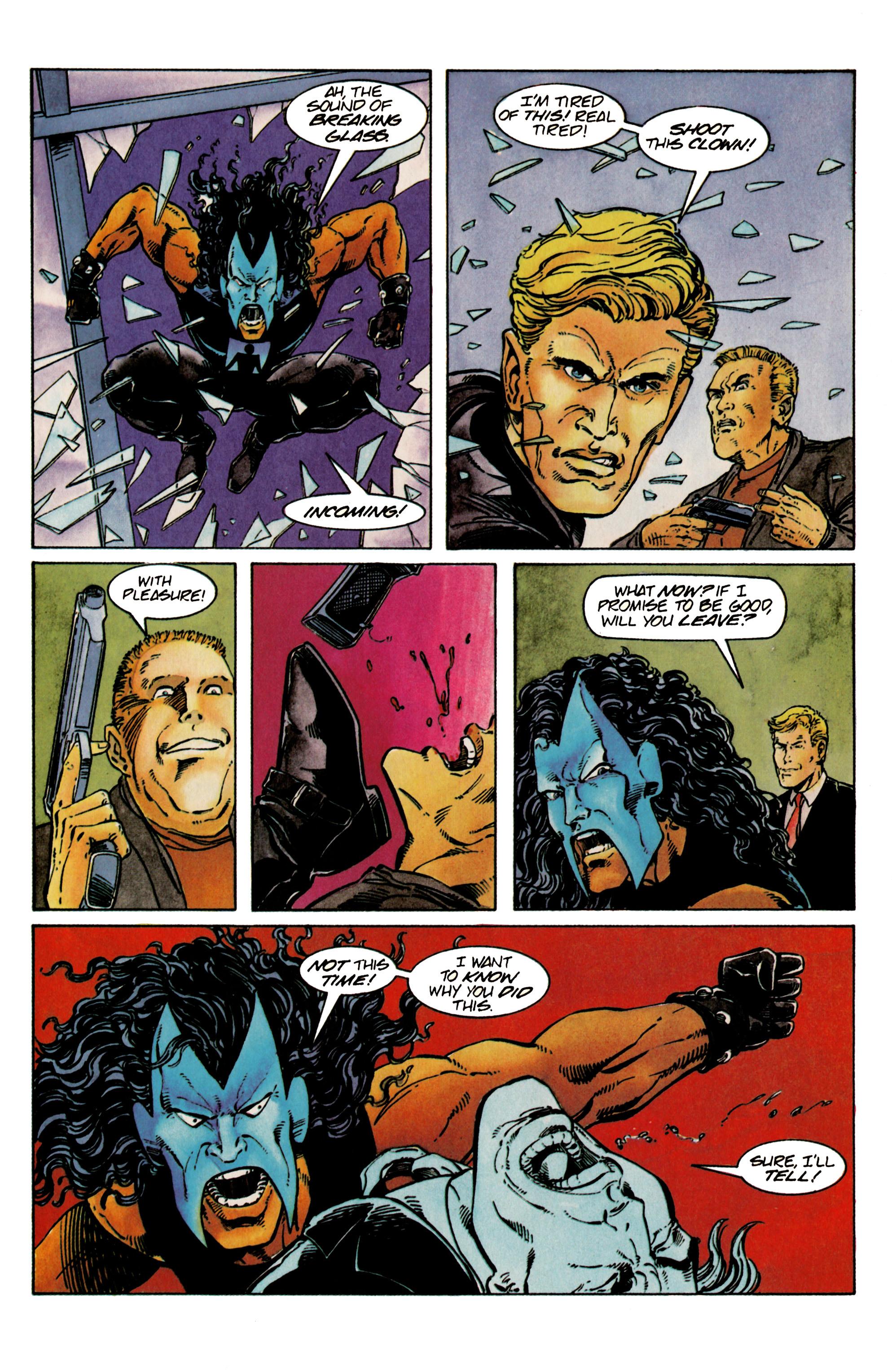 Read online Shadowman (1992) comic -  Issue #24 - 18