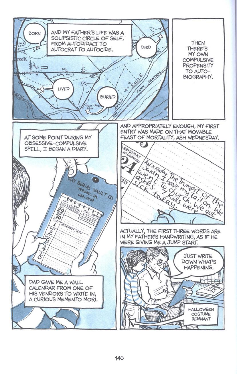 Read online Fun Home: A Family Tragicomic comic -  Issue # TPB - 146