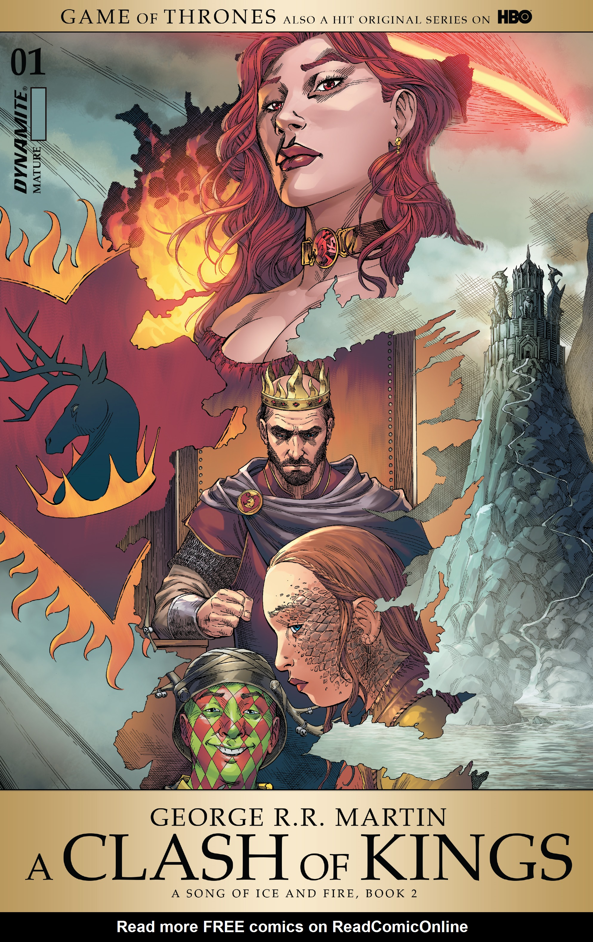 Read online A Clash of Kings comic -  Issue #1 - 1