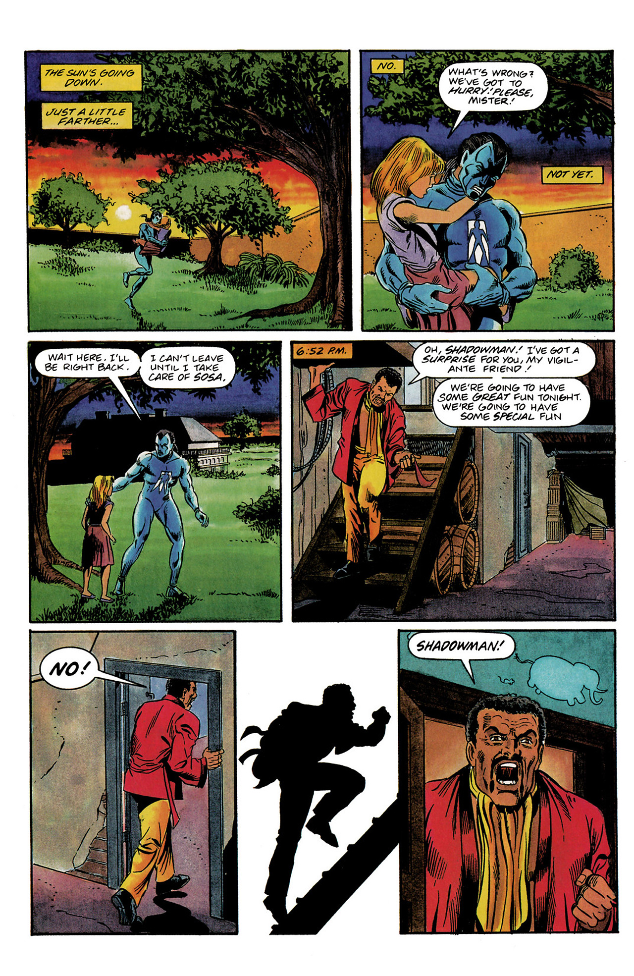 Read online Shadowman (1992) comic -  Issue #3 - 19