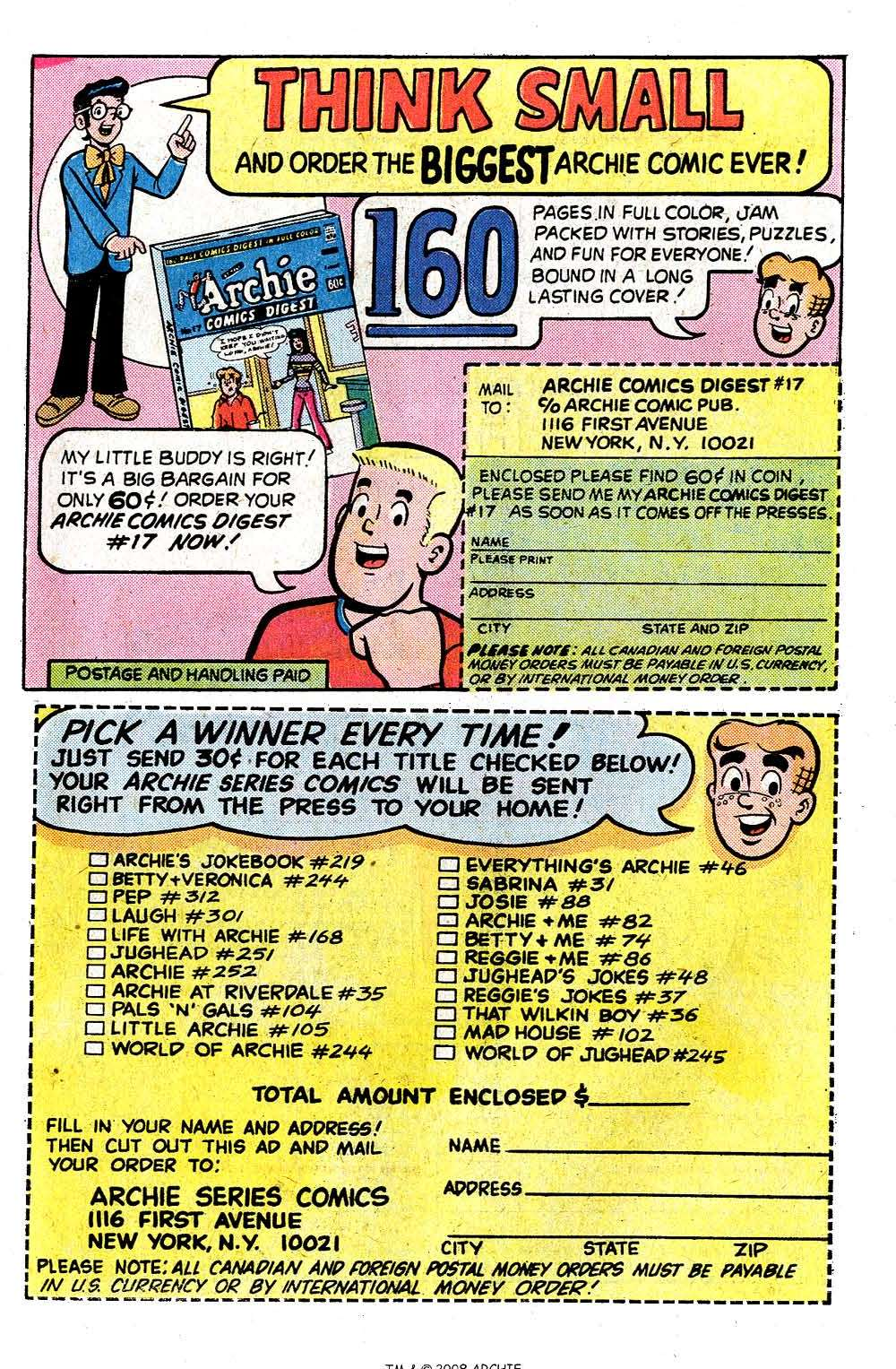 Read online Archie (1960) comic -  Issue #251 - 27