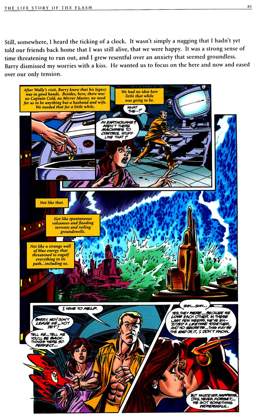 Read online The Life Story of the Flash comic -  Issue # Full - 87