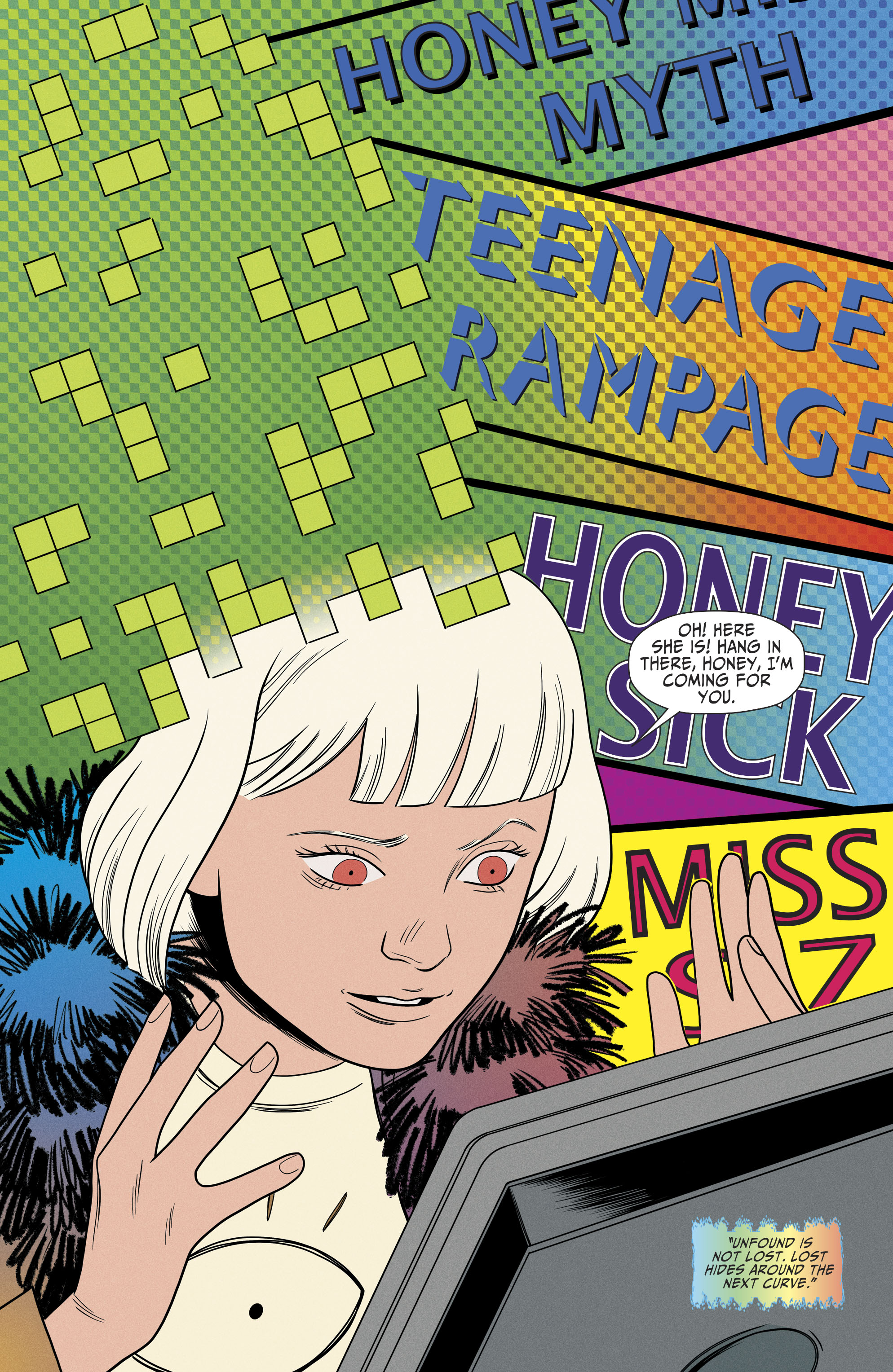 Read online Shade, the Changing Girl comic -  Issue #9 - 17