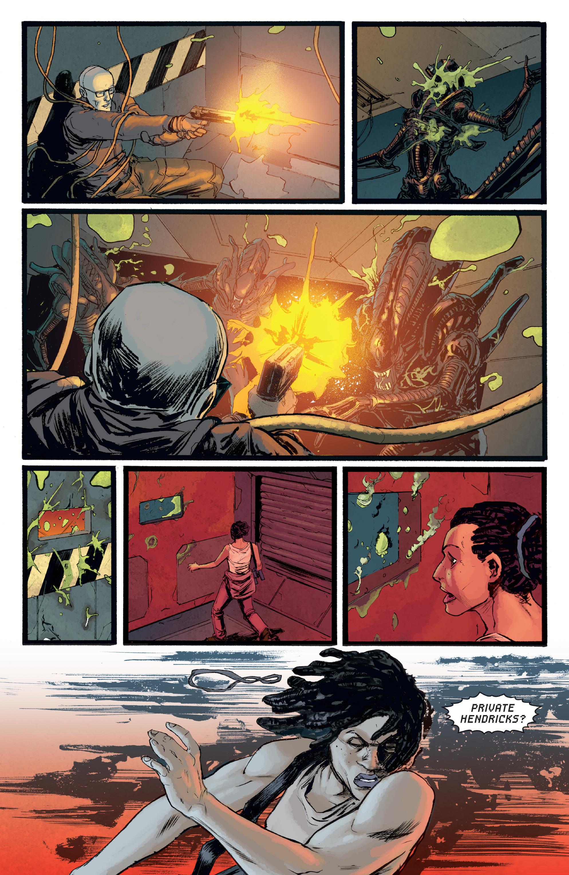 Read online Aliens: Defiance comic -  Issue #8 - 20