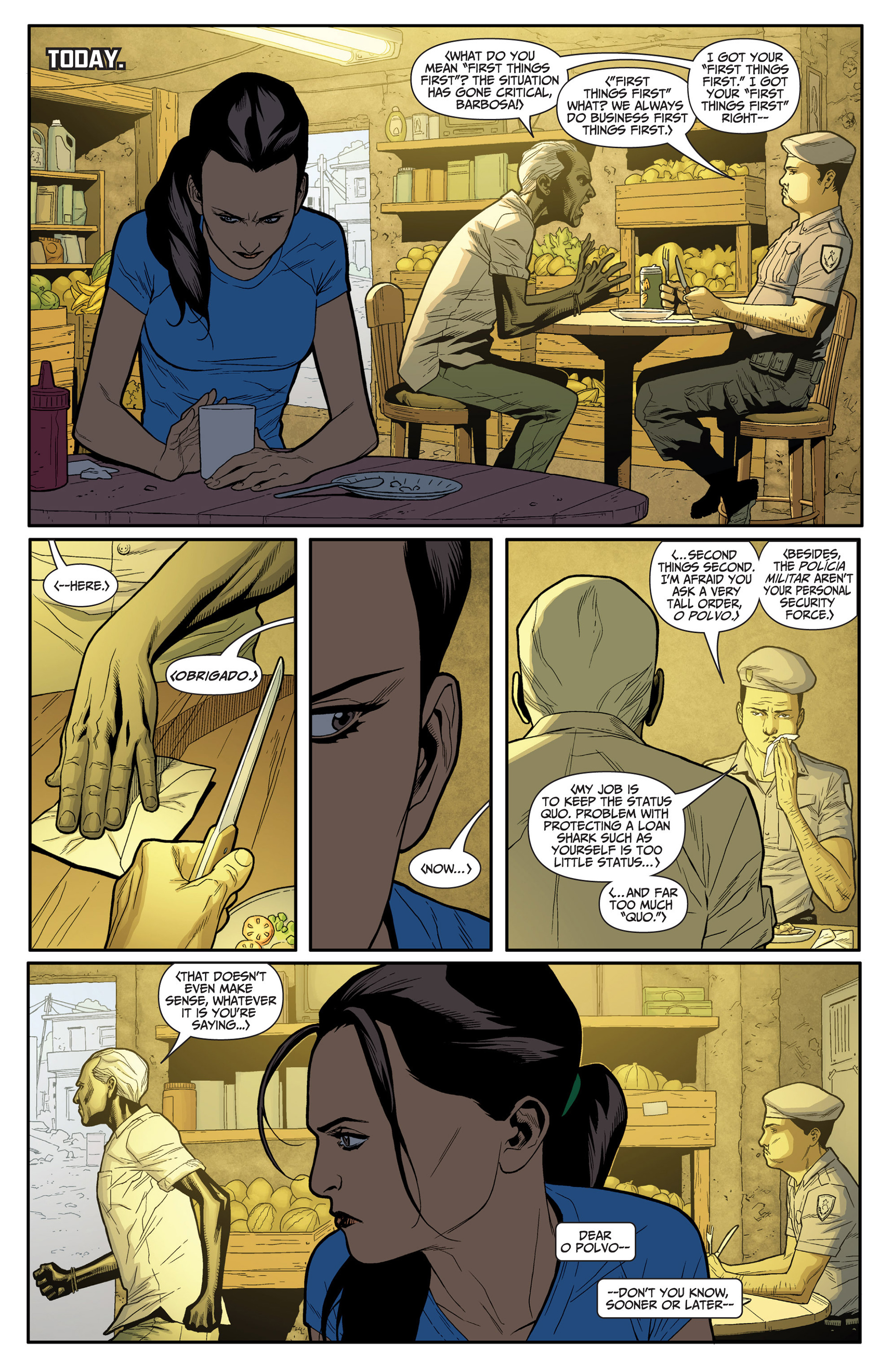 Read online Archer and Armstrong comic -  Issue #24 - 5