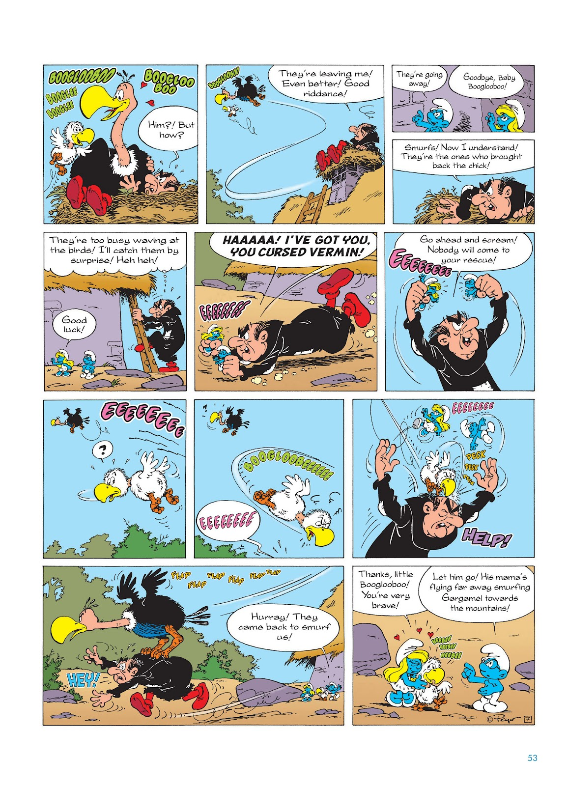 Read online The Smurfs comic -  Issue #15 - 54
