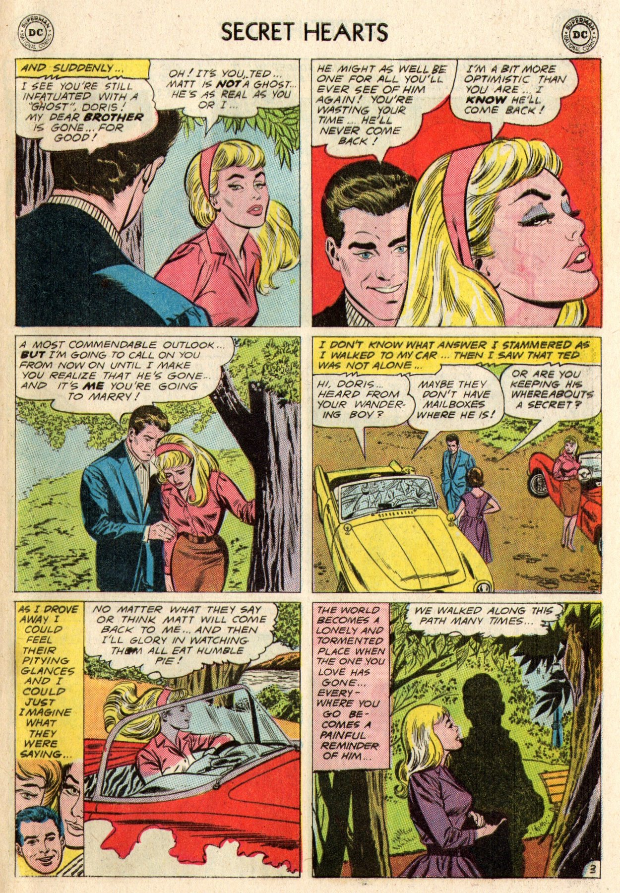 Read online Secret Hearts comic -  Issue #95 - 29