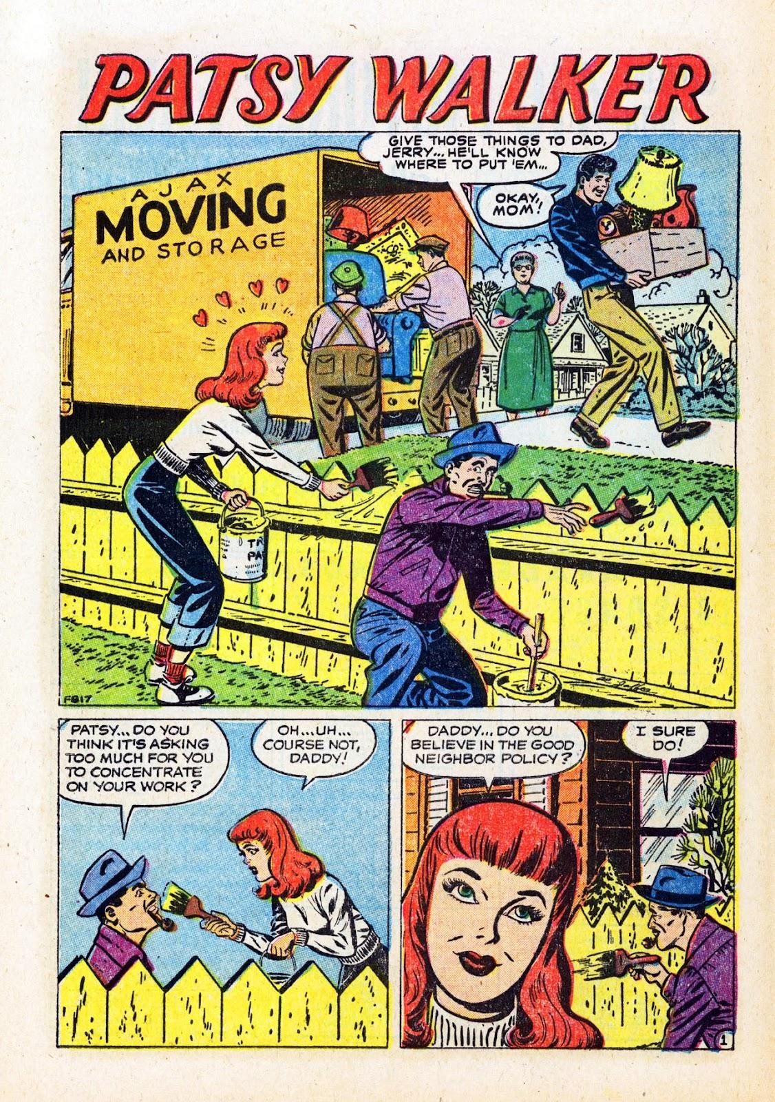 Read online Patsy Walker comic -  Issue #58 - 28