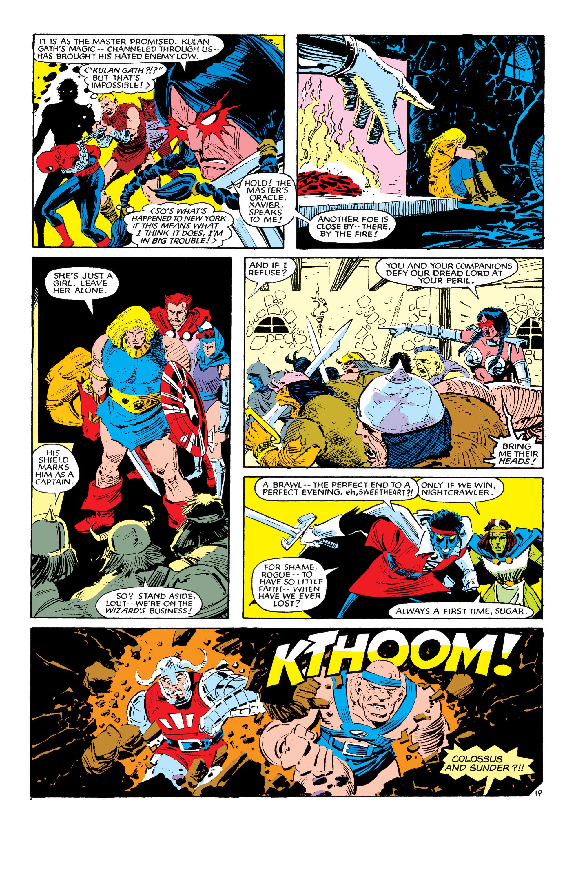 Read online Uncanny X-Men (1963) comic -  Issue #190 - 19
