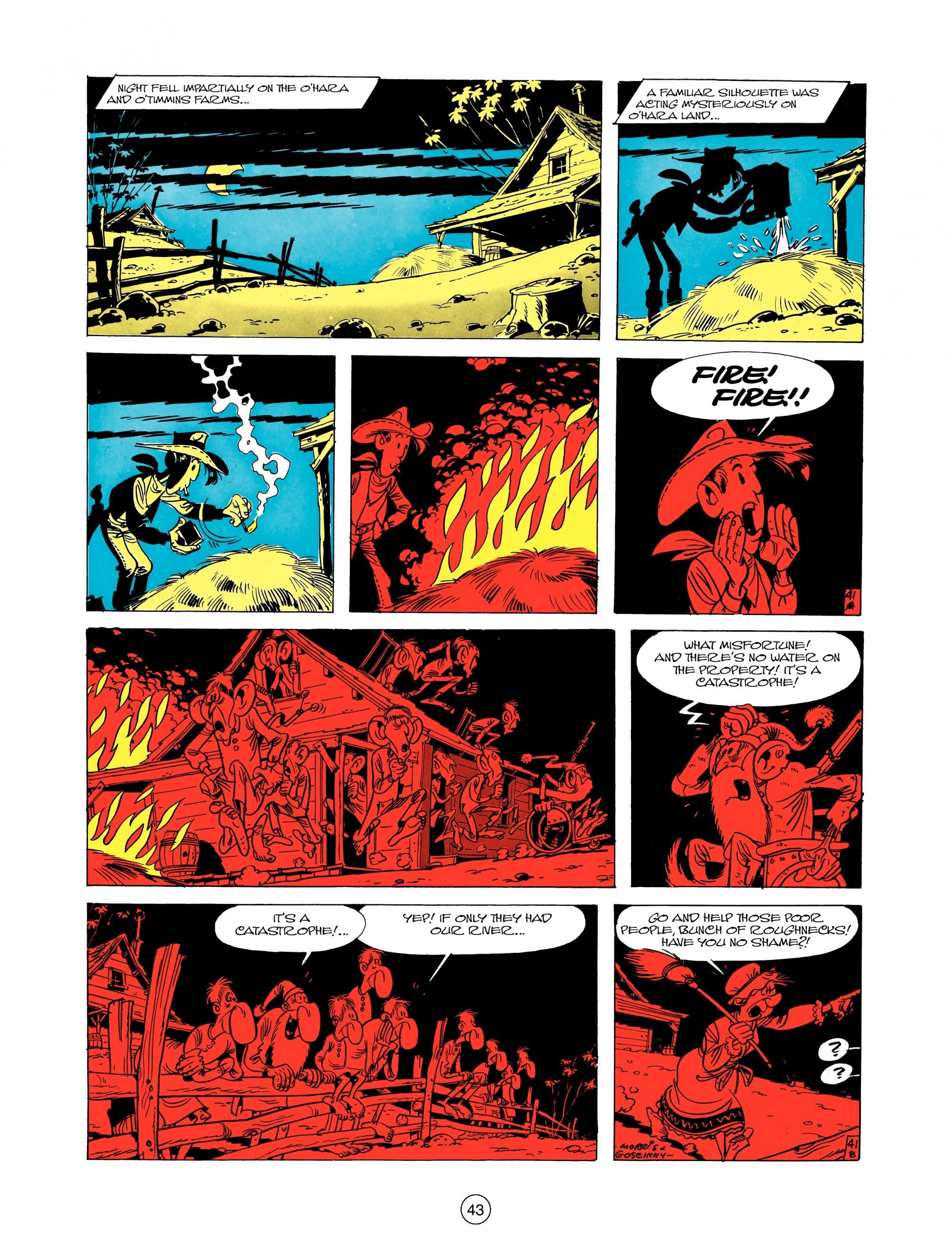 Read online A Lucky Luke Adventure comic -  Issue #12 - 43