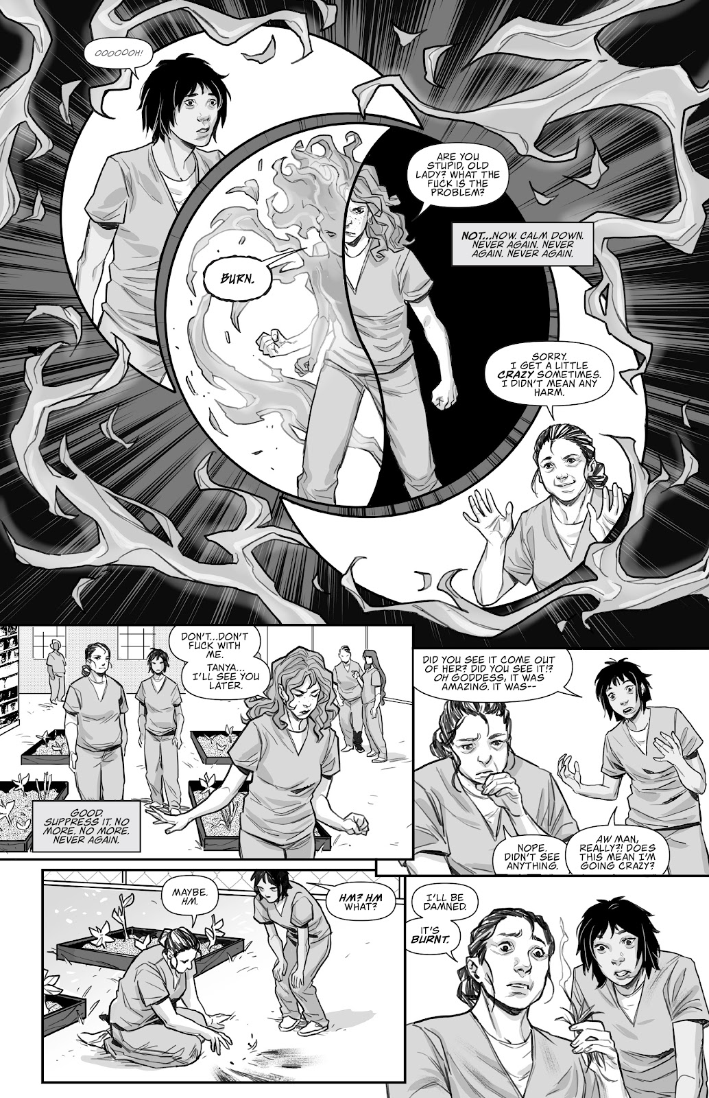 Read online Prison Witch comic -  Issue #1 - 18