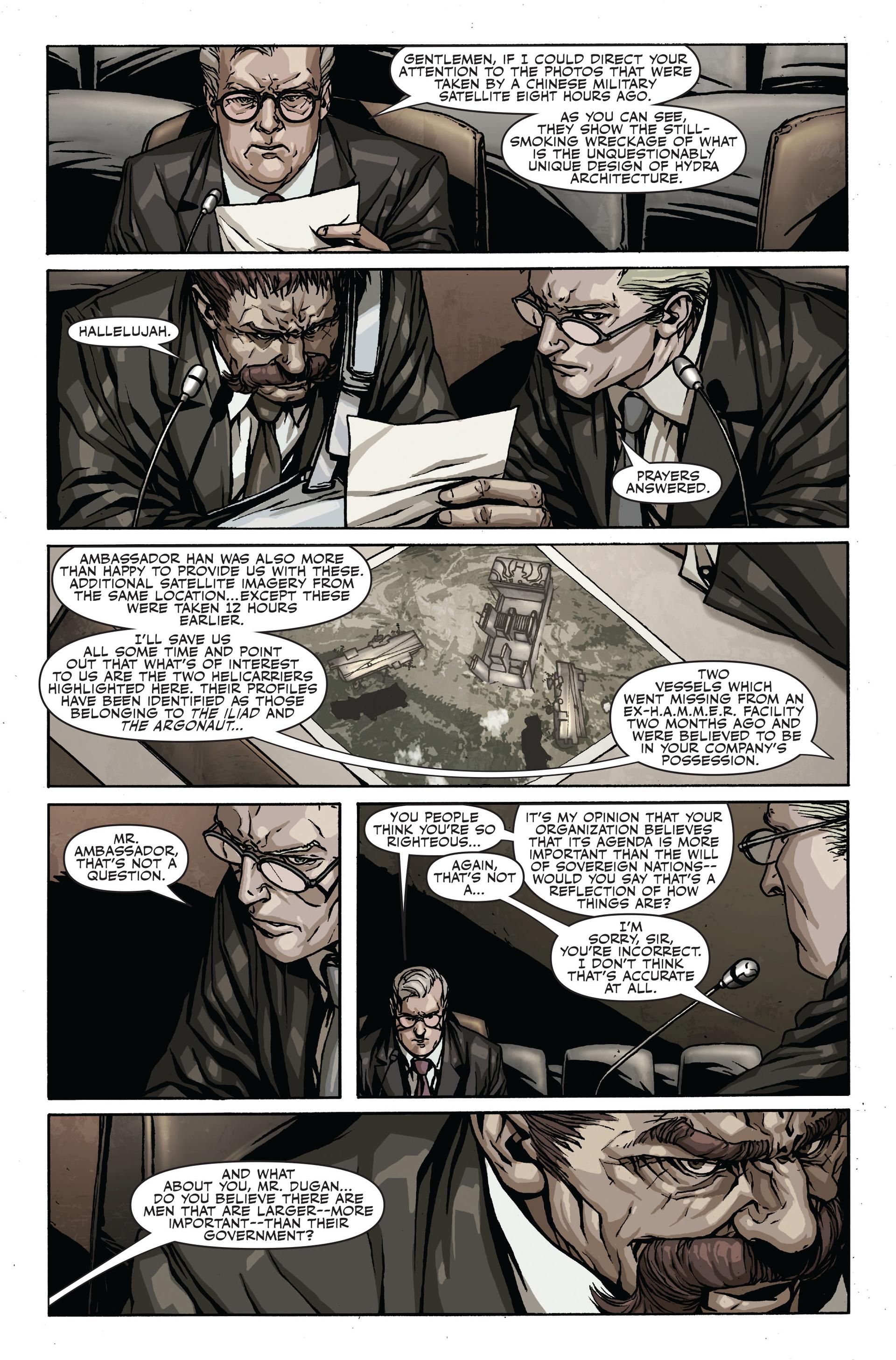 Read online Secret Warriors comic -  Issue #17 - 20