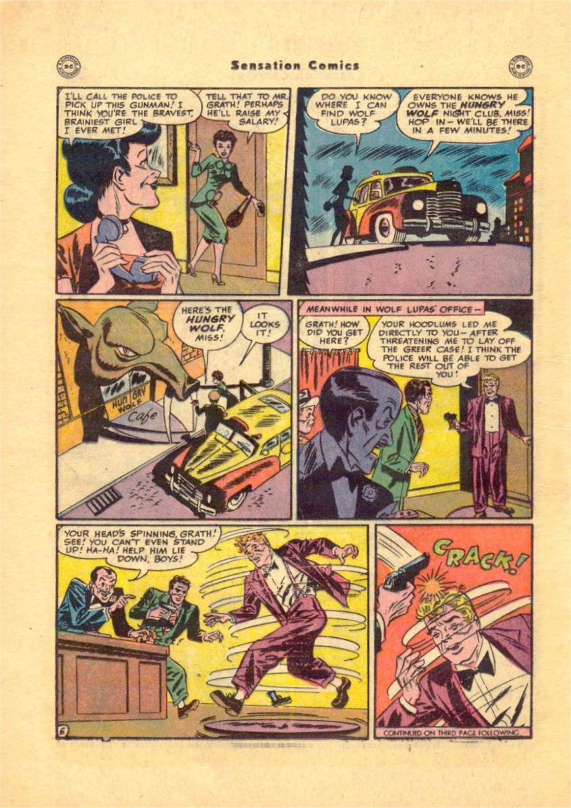 Read online Sensation (Mystery) Comics comic -  Issue #84 - 22