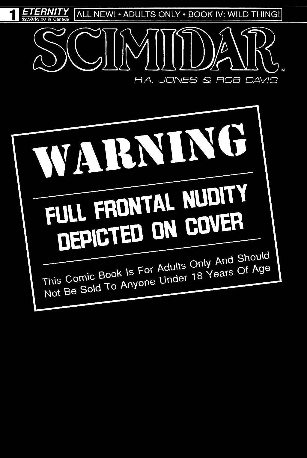 Scimidar Book IV: Wild Thing 1 Page 1