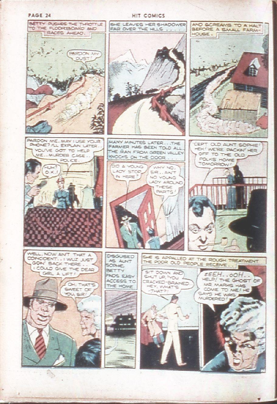 Read online Hit Comics comic -  Issue #7 - 26