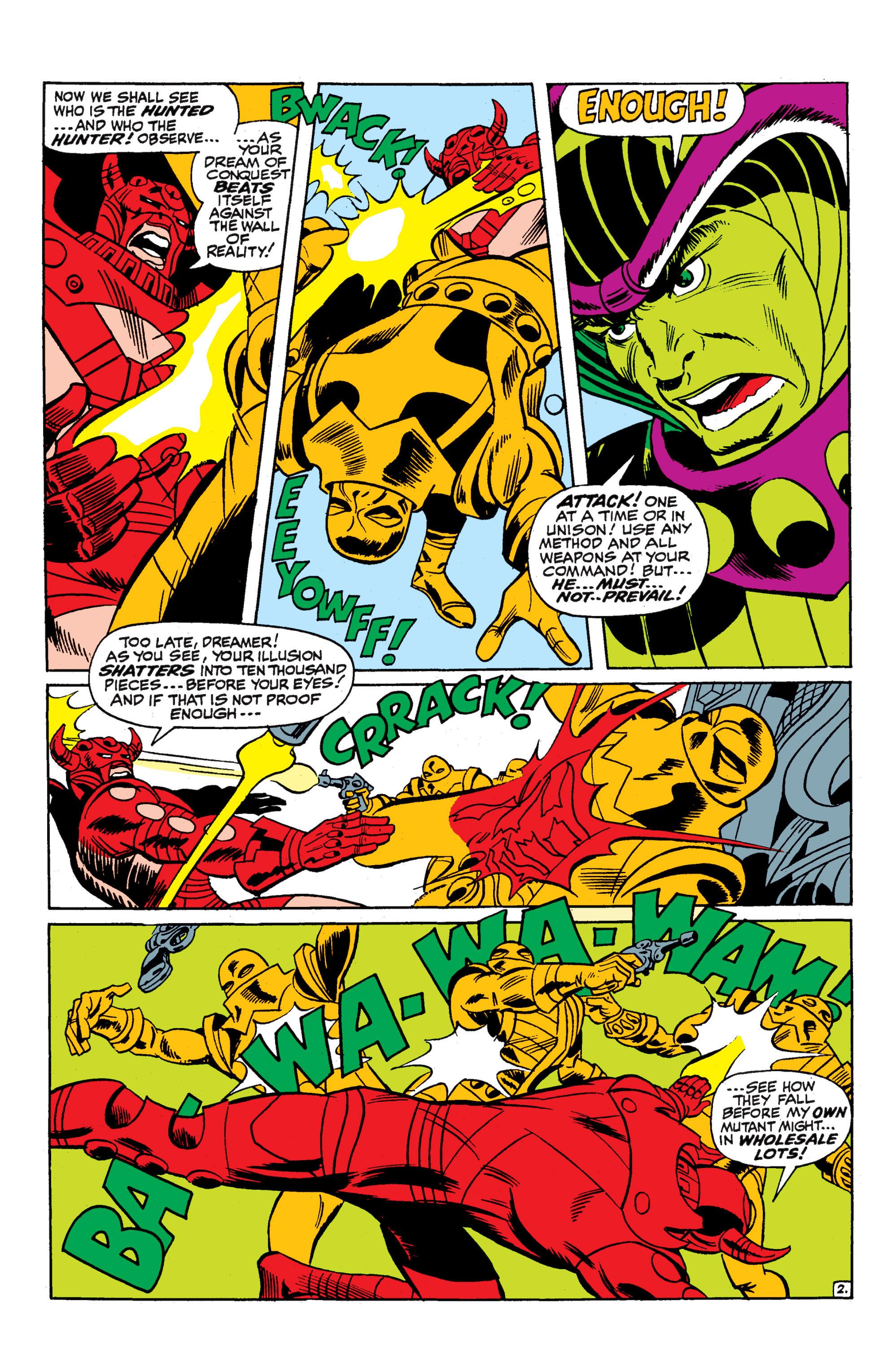 Uncanny X-Men (1963) 52 Page 2