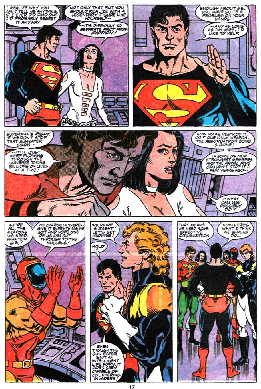 Read online Adventures of Superman (1987) comic -  Issue #477 - 18