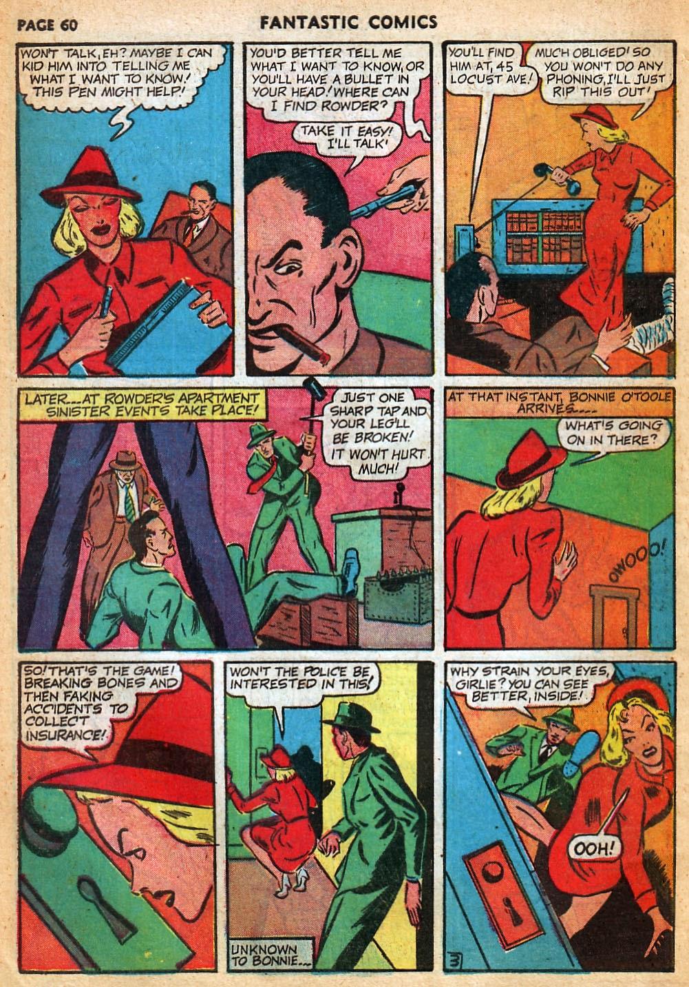 Read online Fantastic Comics comic -  Issue #22 - 61