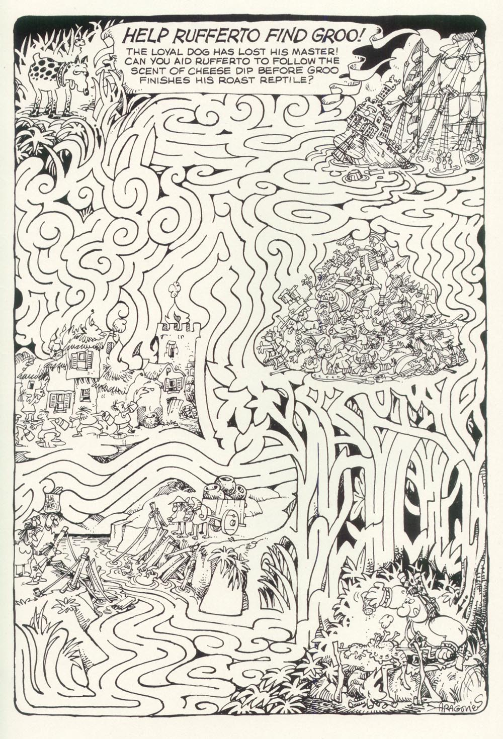 Read online Sergio Aragonés Groo the Wanderer comic -  Issue #90 - 31