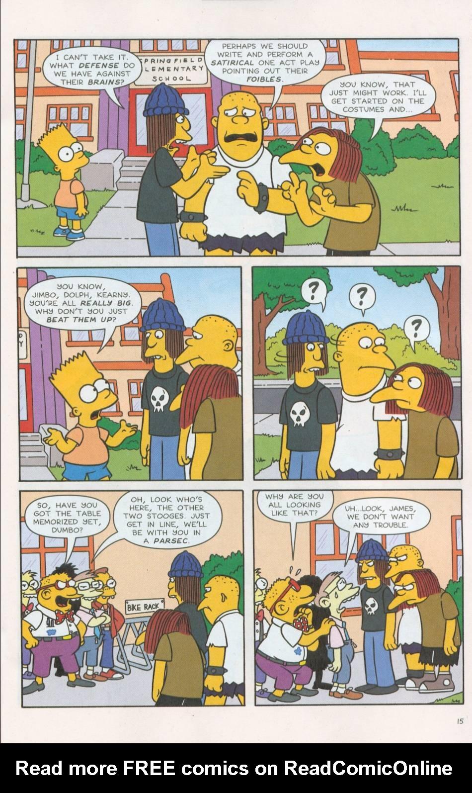 Read online Simpsons Comics comic -  Issue #75 - 16