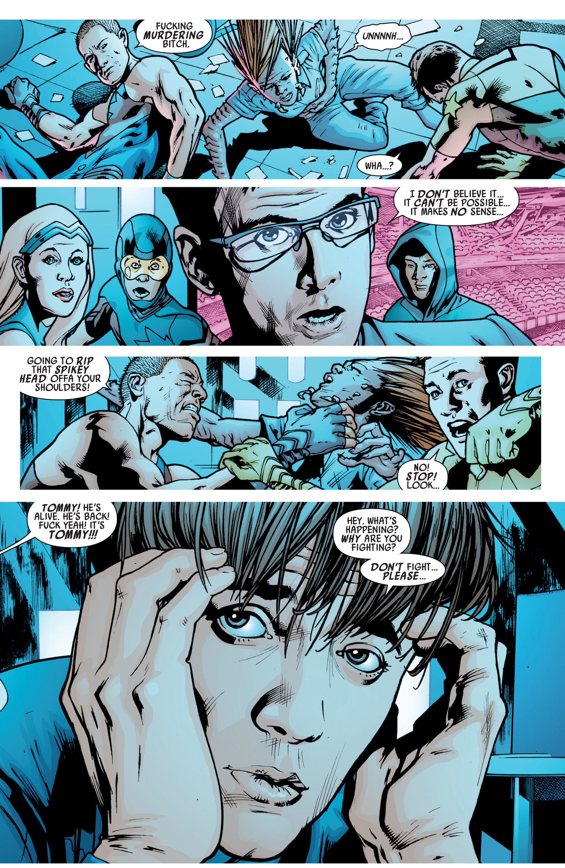 Read online America's Got Powers comic -  Issue #6 - 15