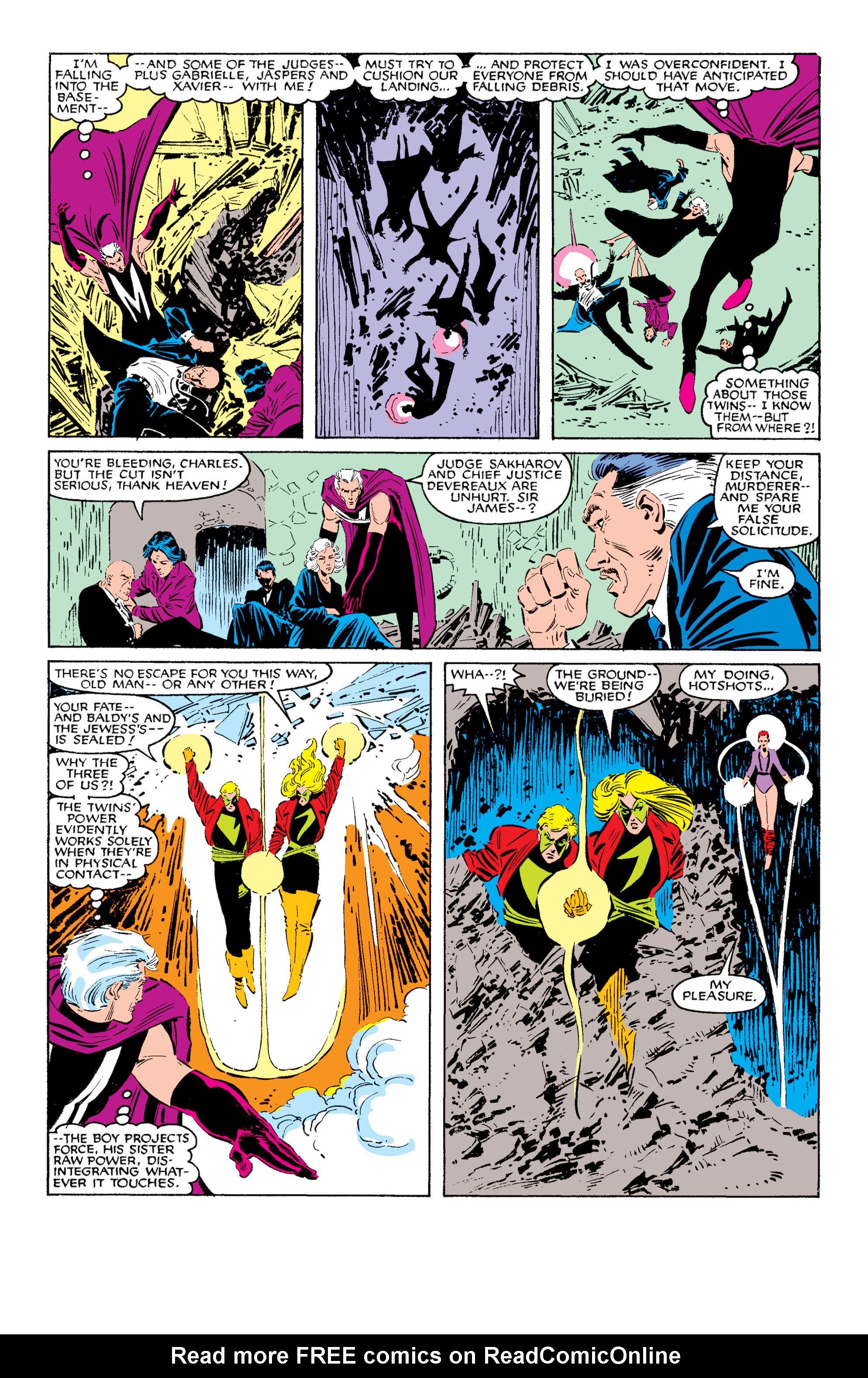 Read online Uncanny X-Men (1963) comic -  Issue #200 - 34