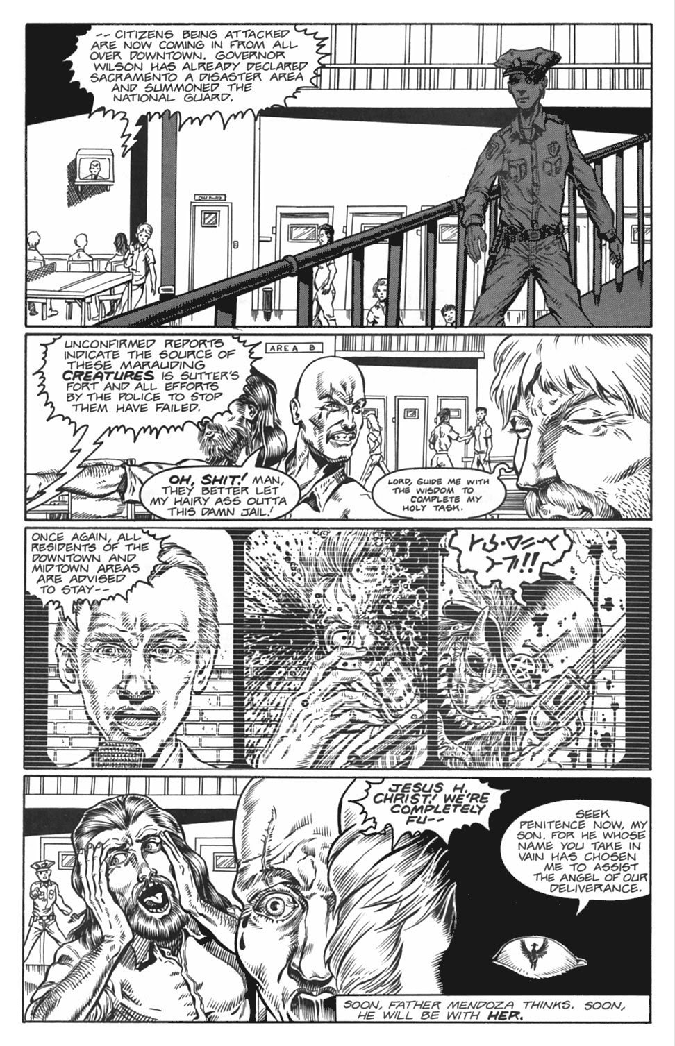 Read online Gunfighters in Hell comic -  Issue #4 - 5